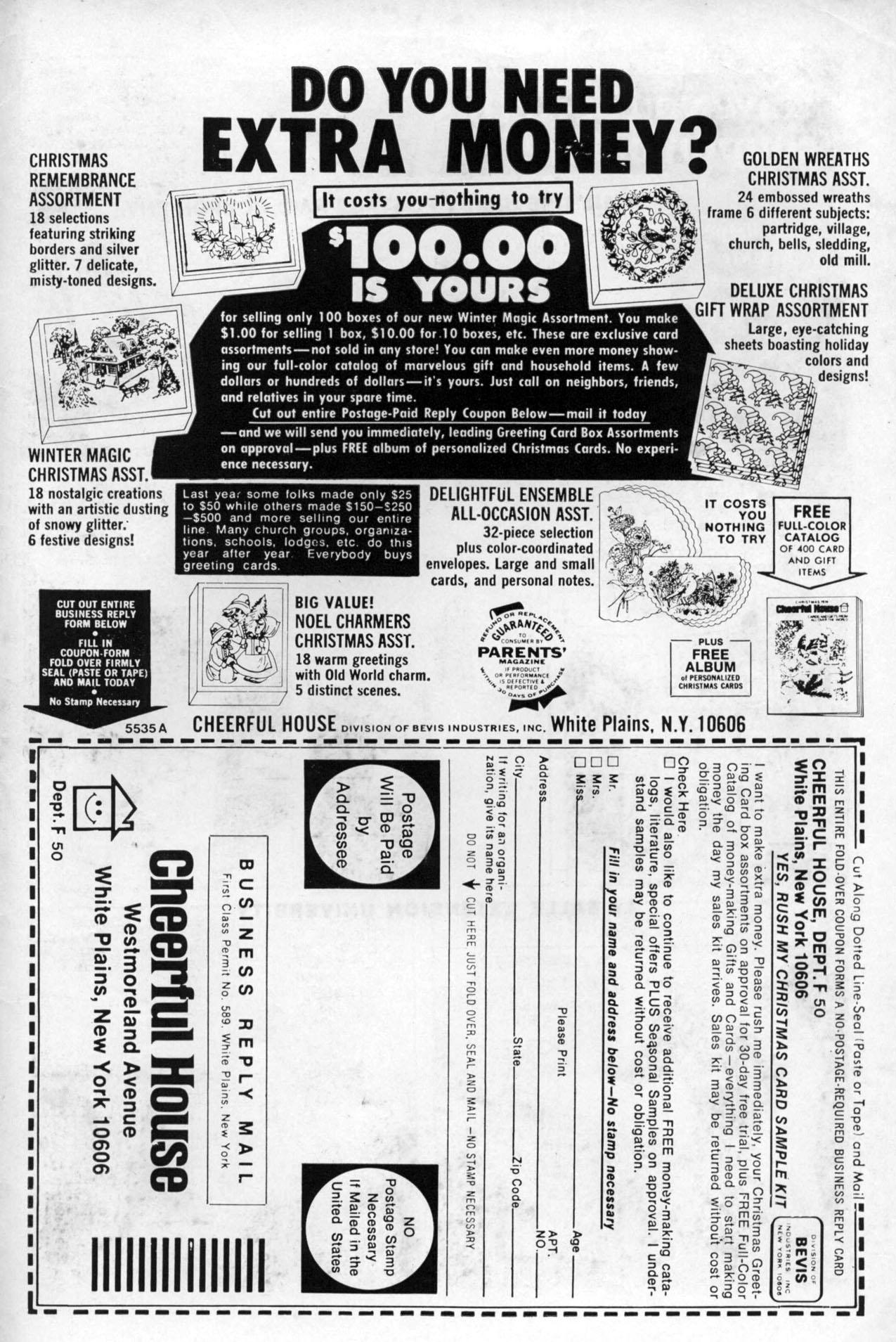 Read online Amazing Adventures (1970) comic -  Issue #27 - 34