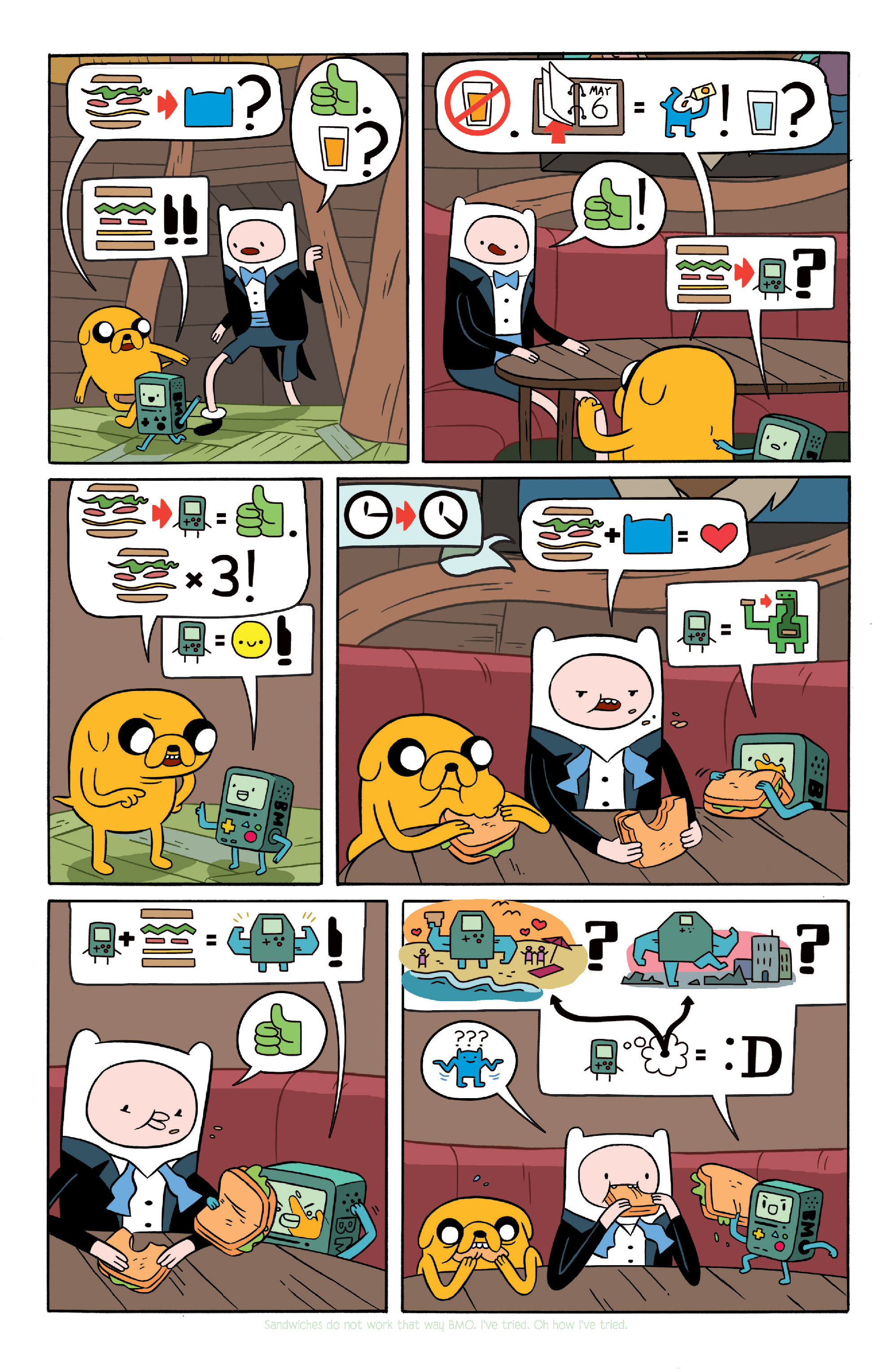 Read online Adventure Time comic -  Issue #Adventure Time _TPB 4 - 15