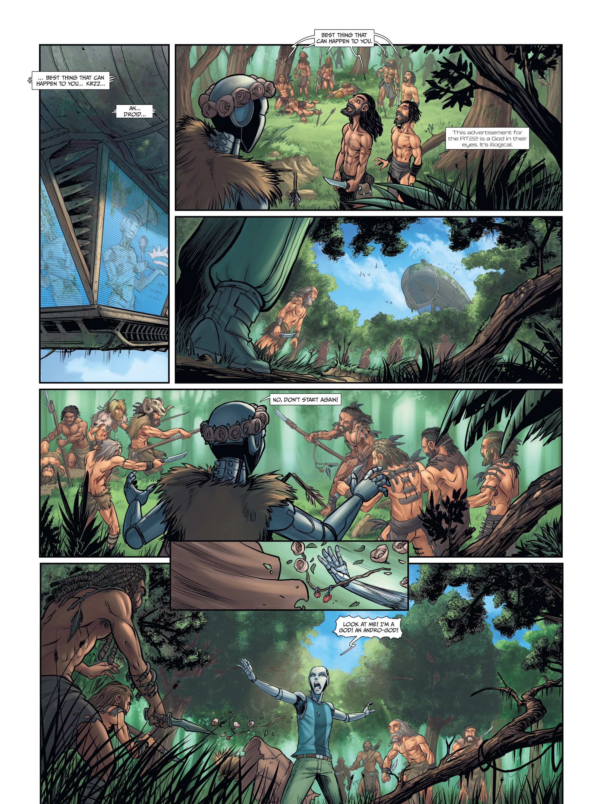 Read online Androïds comic -  Issue #2 - 26