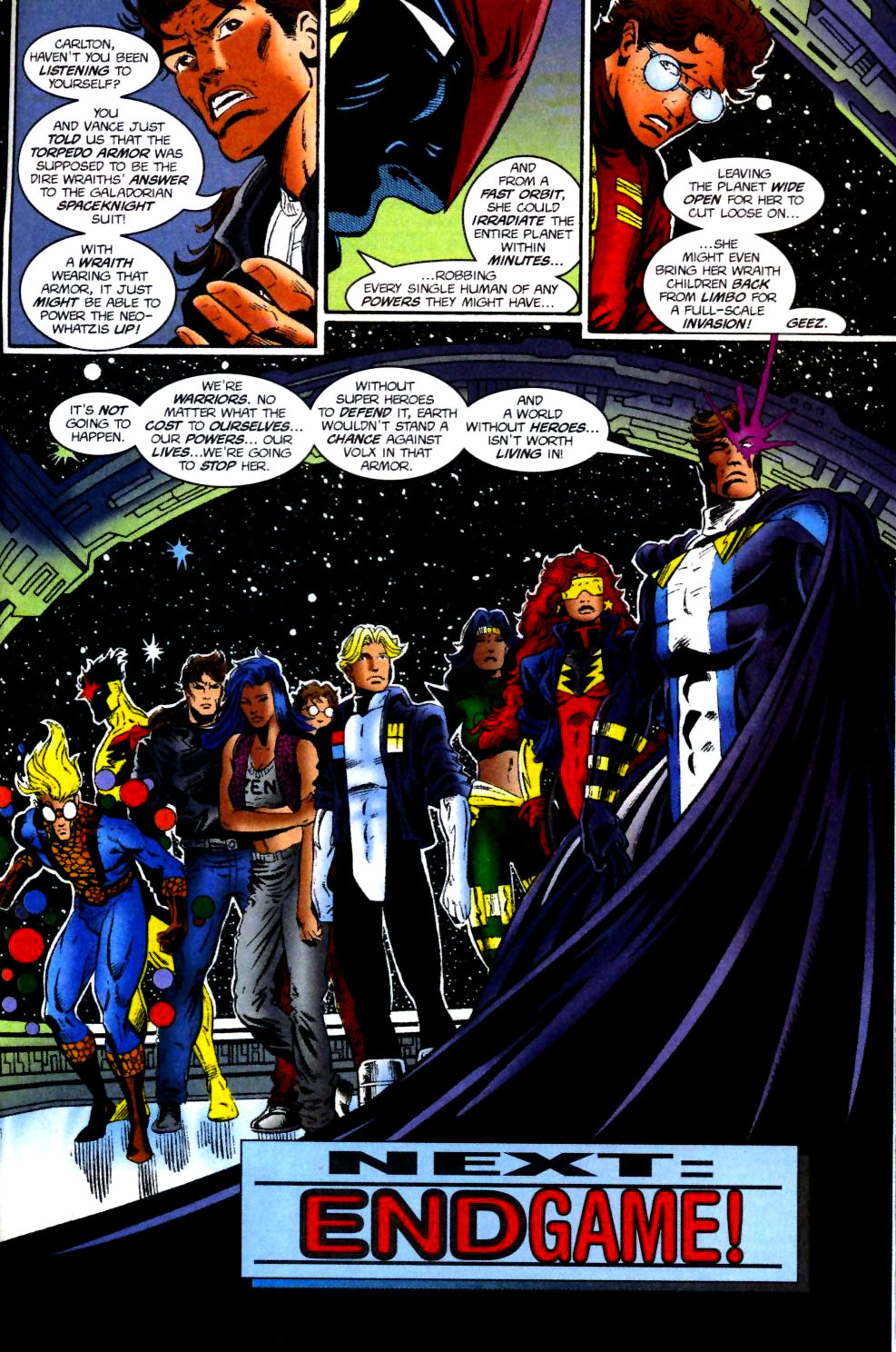 The New Warriors Issue #74 #78 - English 23