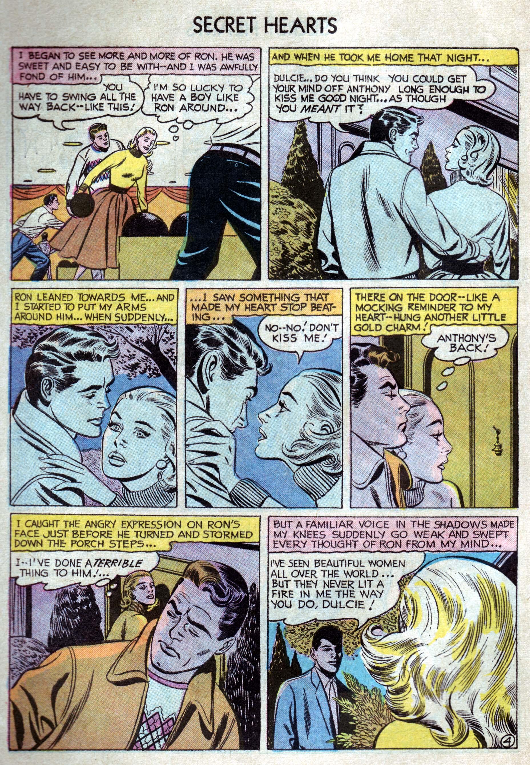 Read online Secret Hearts comic -  Issue #33 - 6