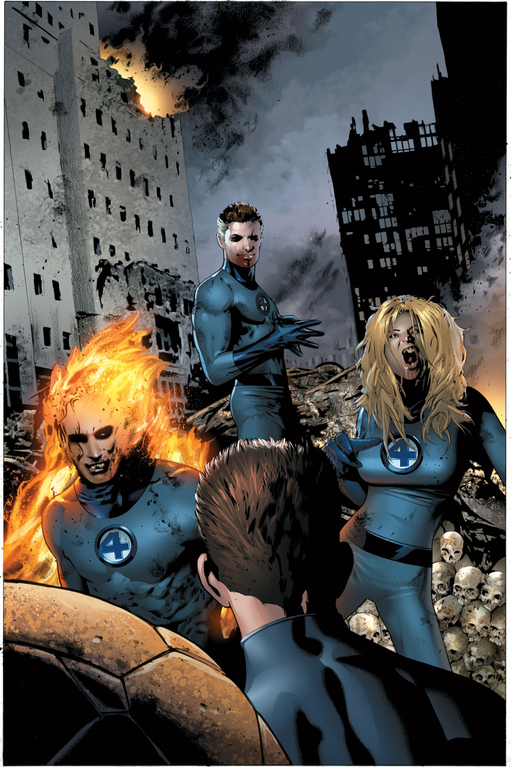 Read online Ultimate Fantastic Four (2004) comic -  Issue #22 - 5