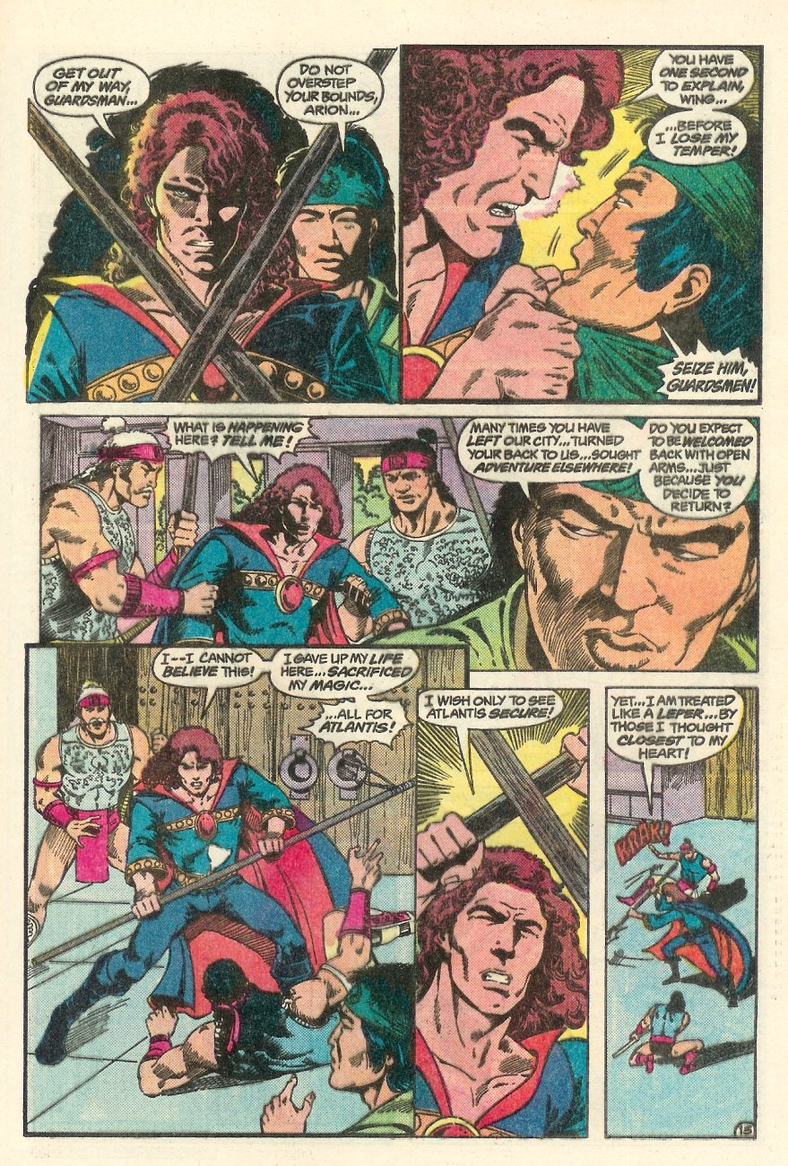 Read online Arion, Lord of Atlantis comic -  Issue #23 - 16