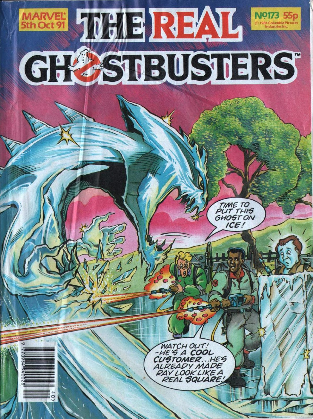 The Real Ghostbusters 173 Page 1