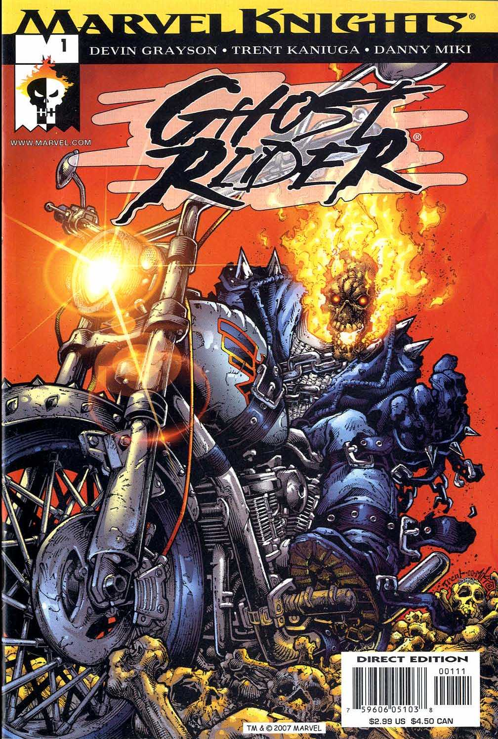 Ghost Rider (2001) 1 Page 1