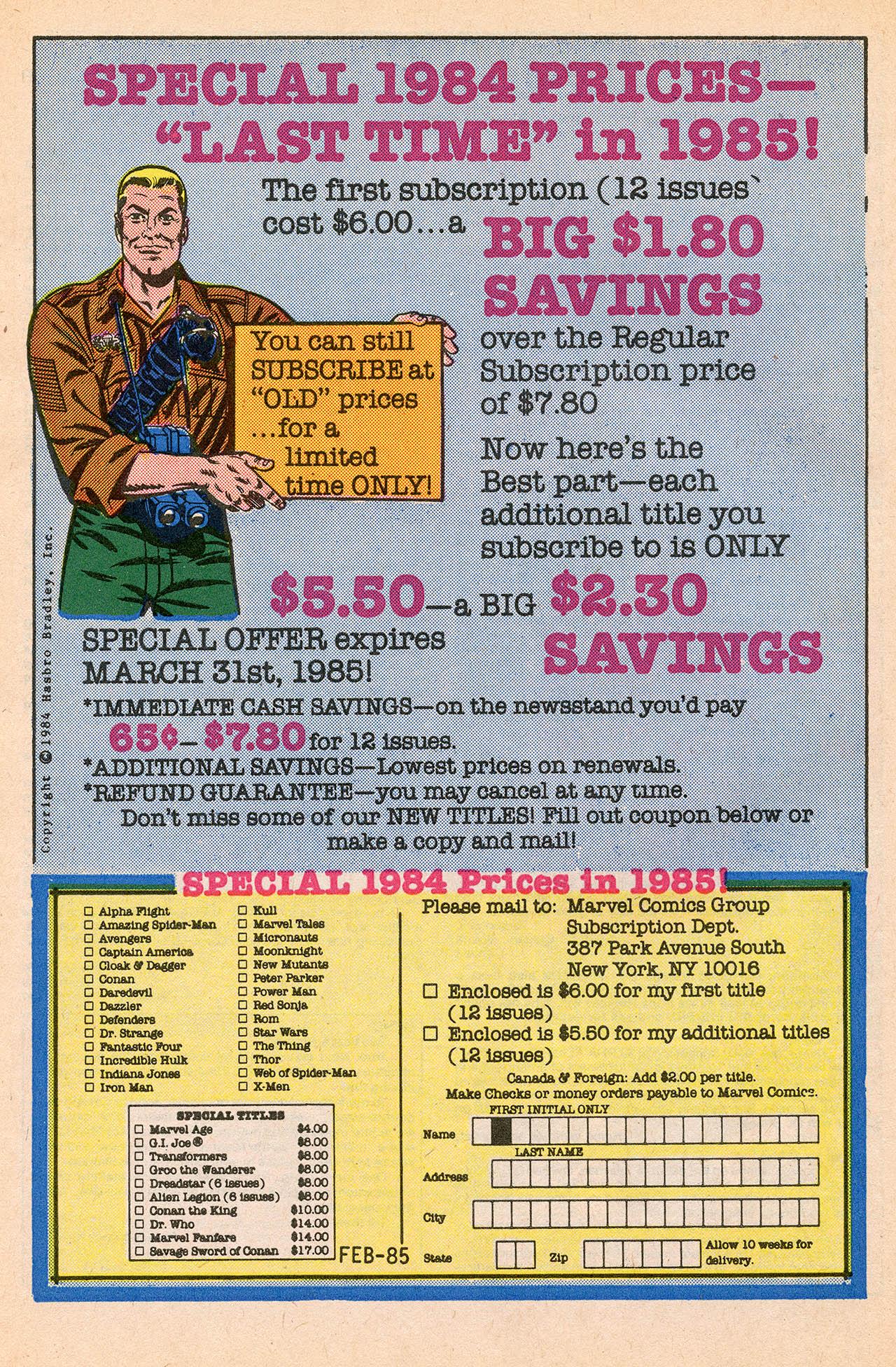 Read online Alpha Flight (1983) comic -  Issue #23 - 34