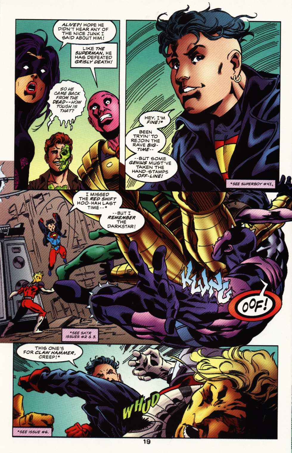 Read online Superboy & The Ravers comic -  Issue #12 - 20