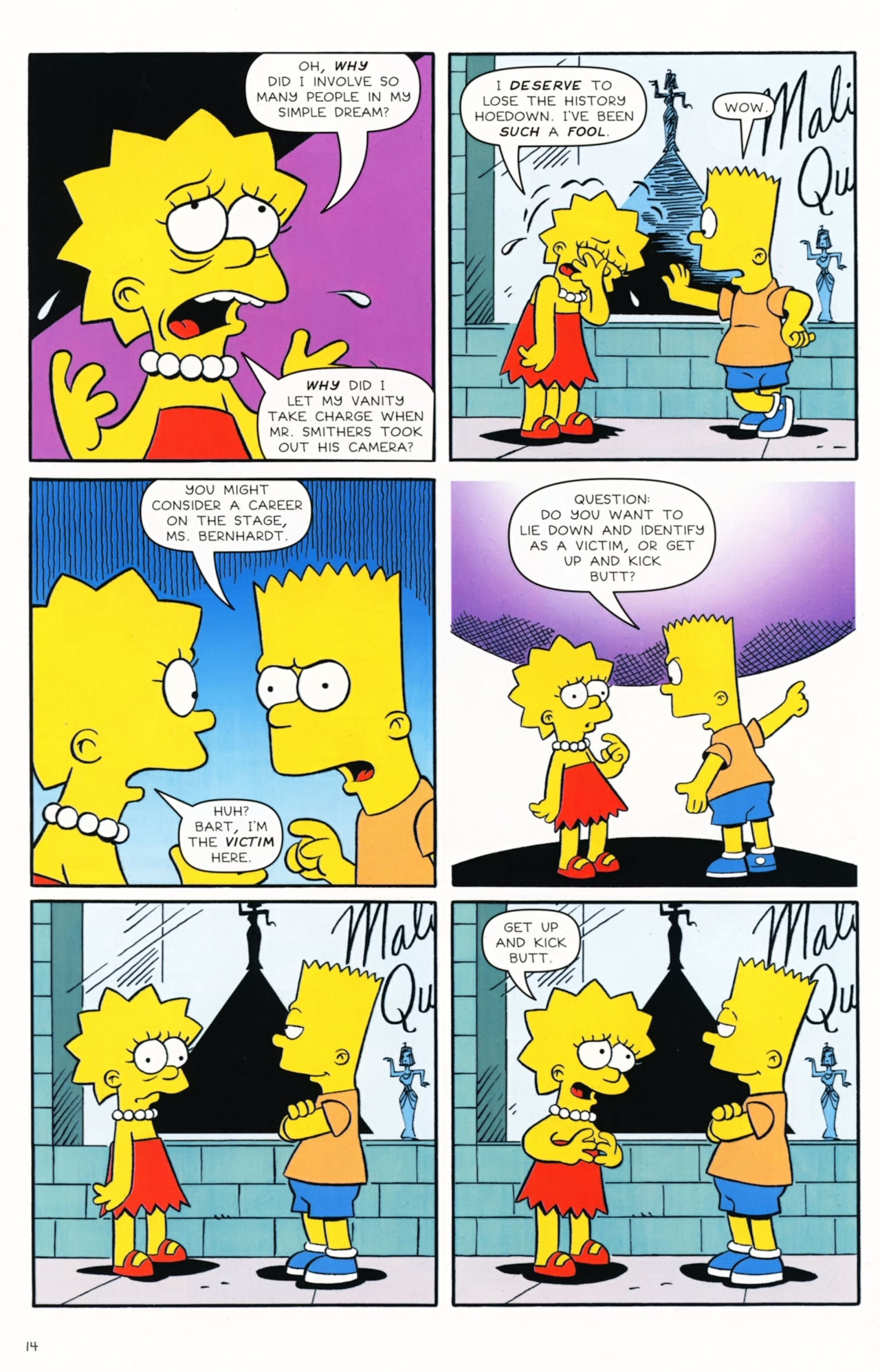 Read online Simpsons Comics Presents Bart Simpson comic -  Issue #57 - 16