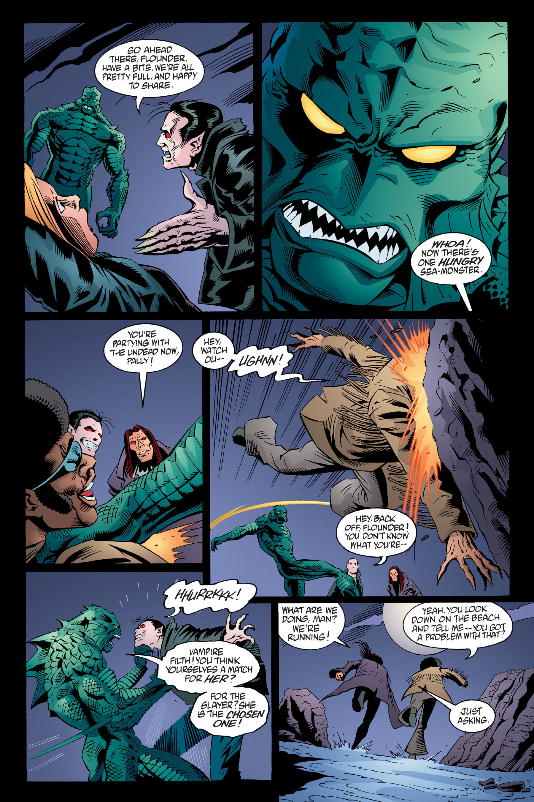 Read online Buffy the Vampire Slayer: Omnibus comic -  Issue # TPB 4 - 229