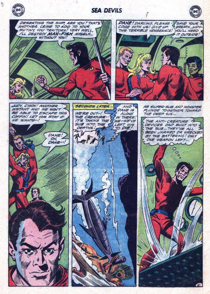 Read online Sea Devils comic -  Issue #24 - 29