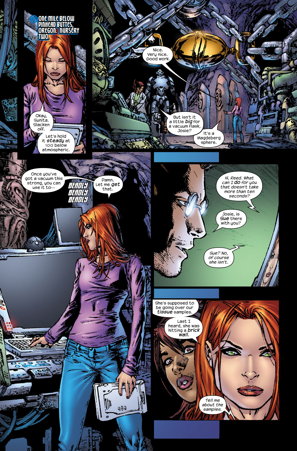 Read online Ultimate Fantastic Four (2004) comic -  Issue #56 - 17