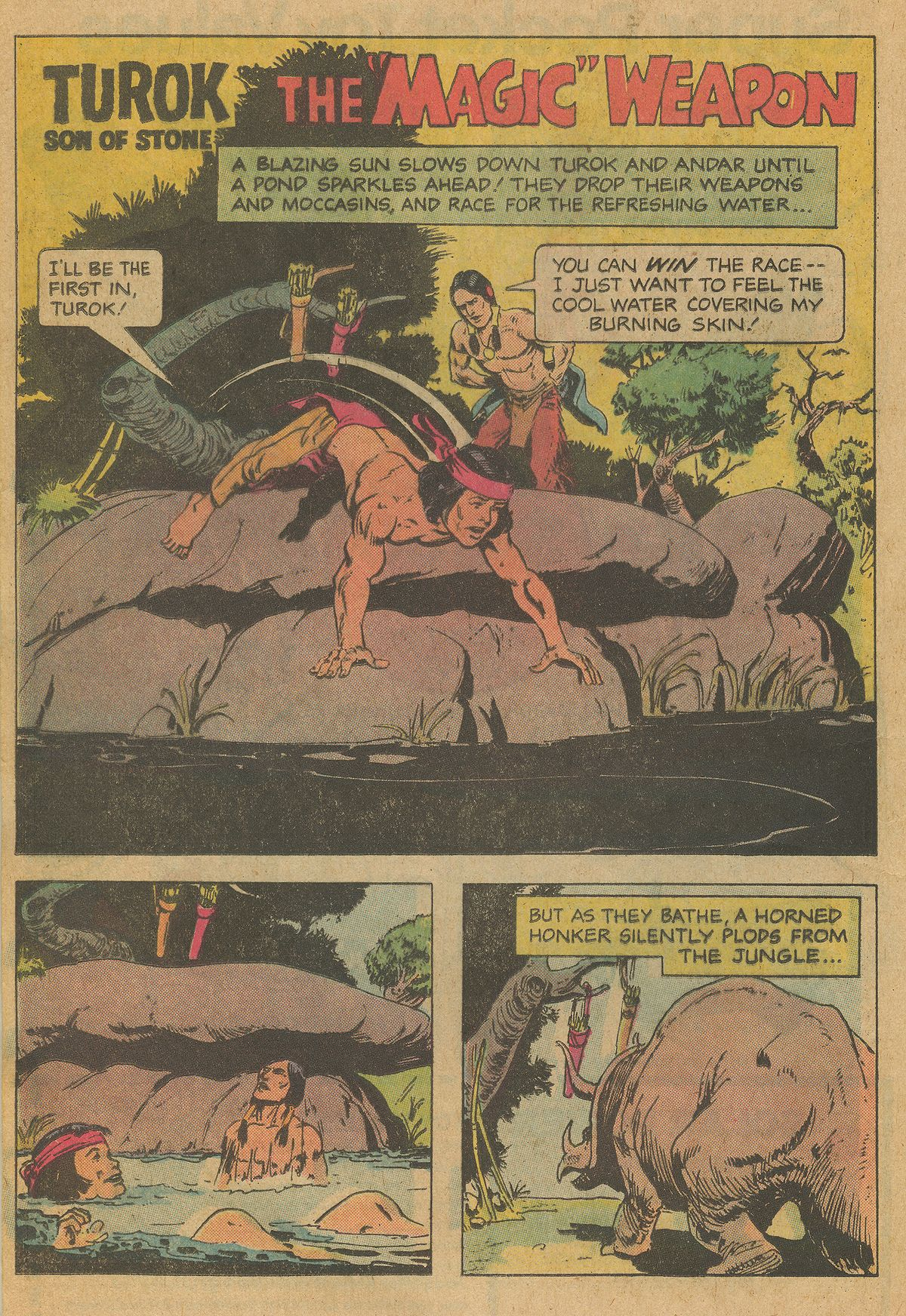 Read online Turok, Son of Stone comic -  Issue #126 - 20