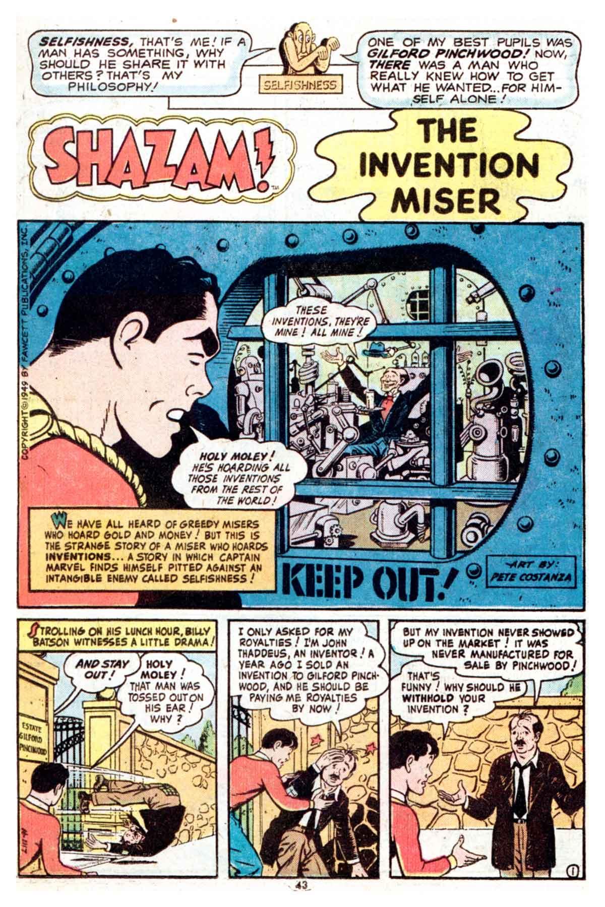 Read online Shazam! (1973) comic -  Issue #16 - 43