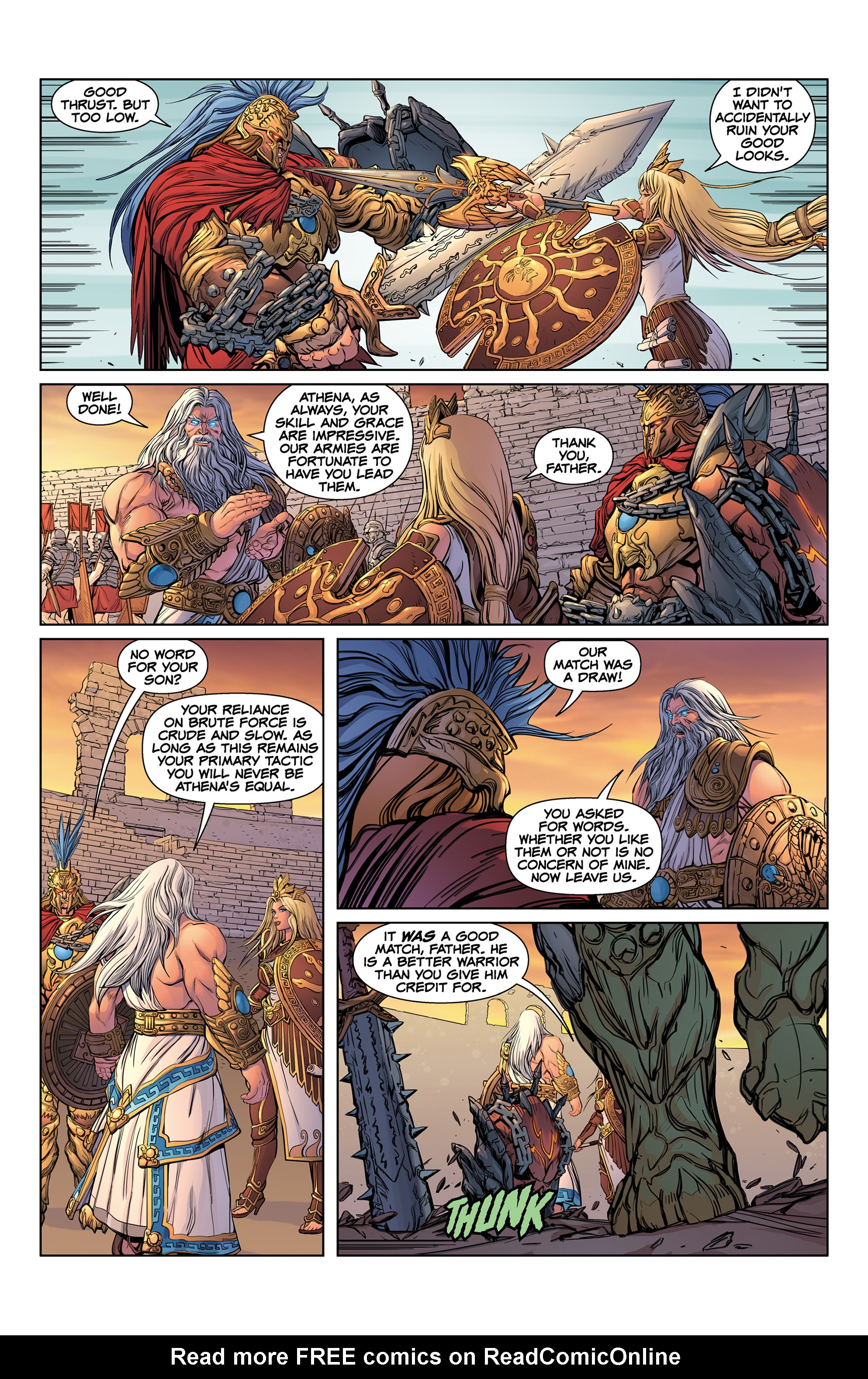 Read online SMITE: The Pantheon War comic -  Issue #1 - 12