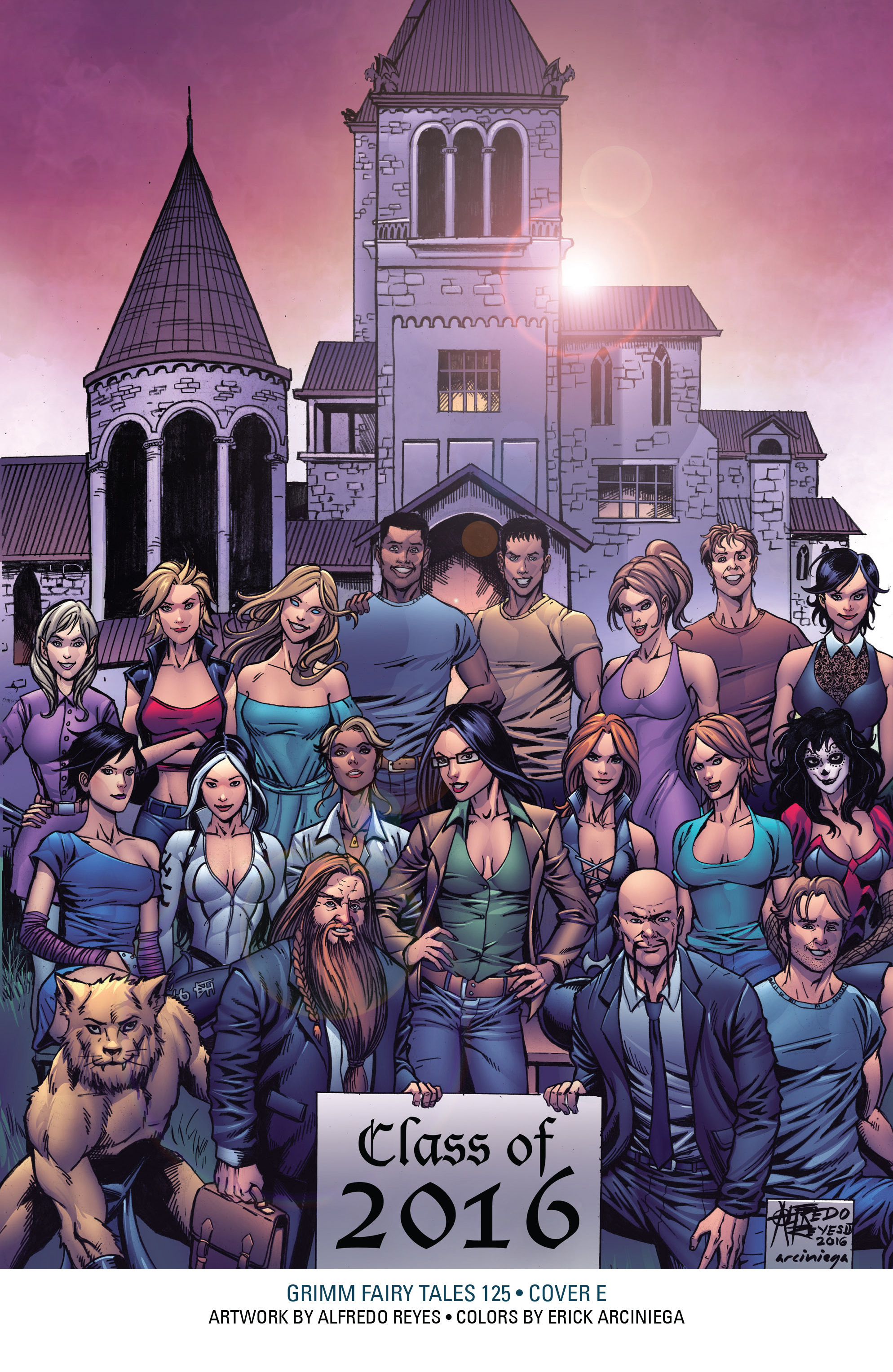 Read online Grimm Fairy Tales: Arcane Acre comic -  Issue # TPB 4 - 221