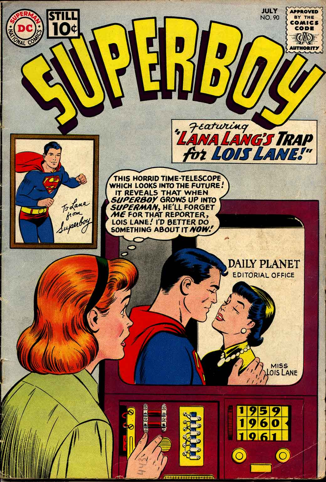 Superboy (1949) issue 90 - Page 1
