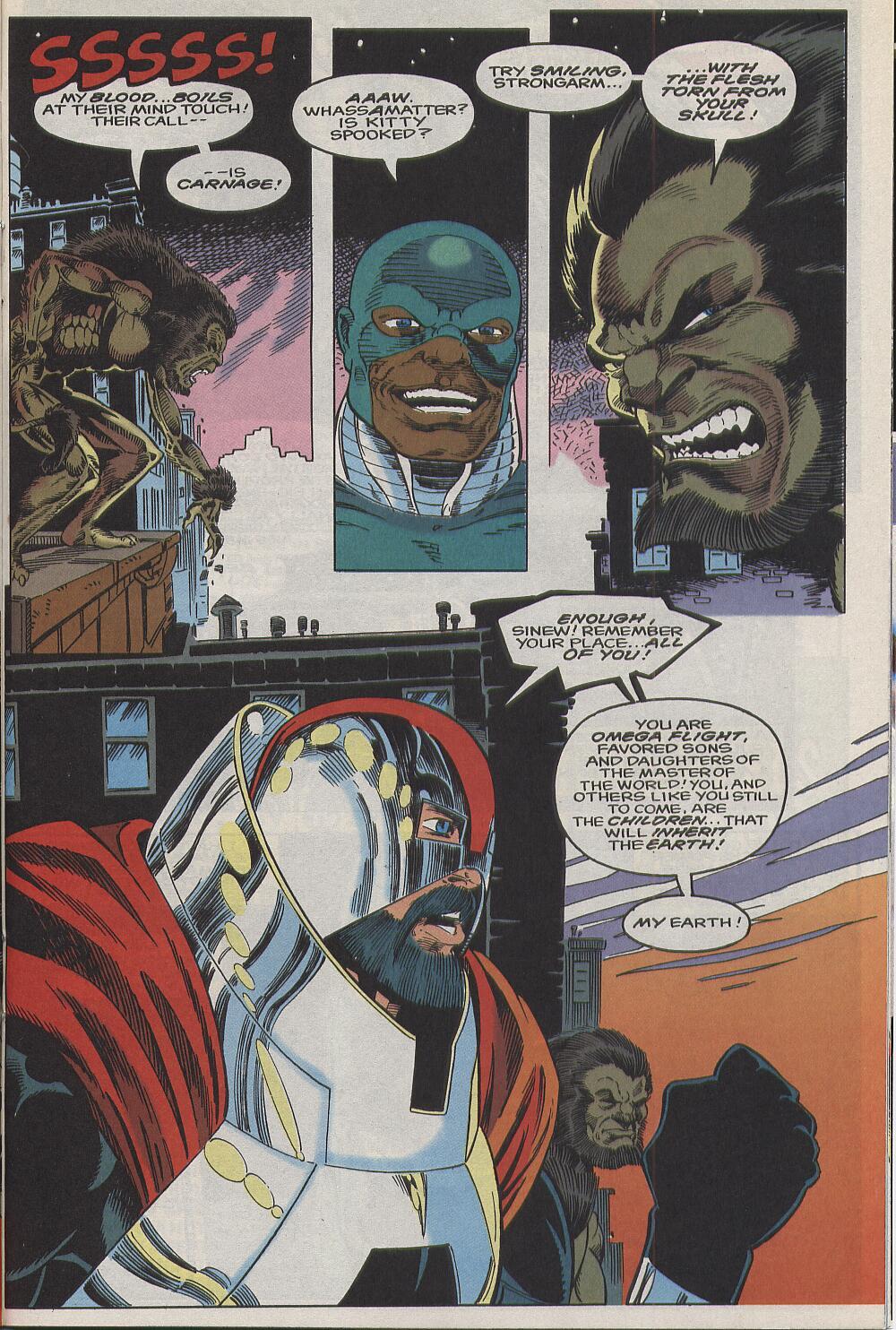 Read online Alpha Flight (1983) comic -  Issue #111 - 16