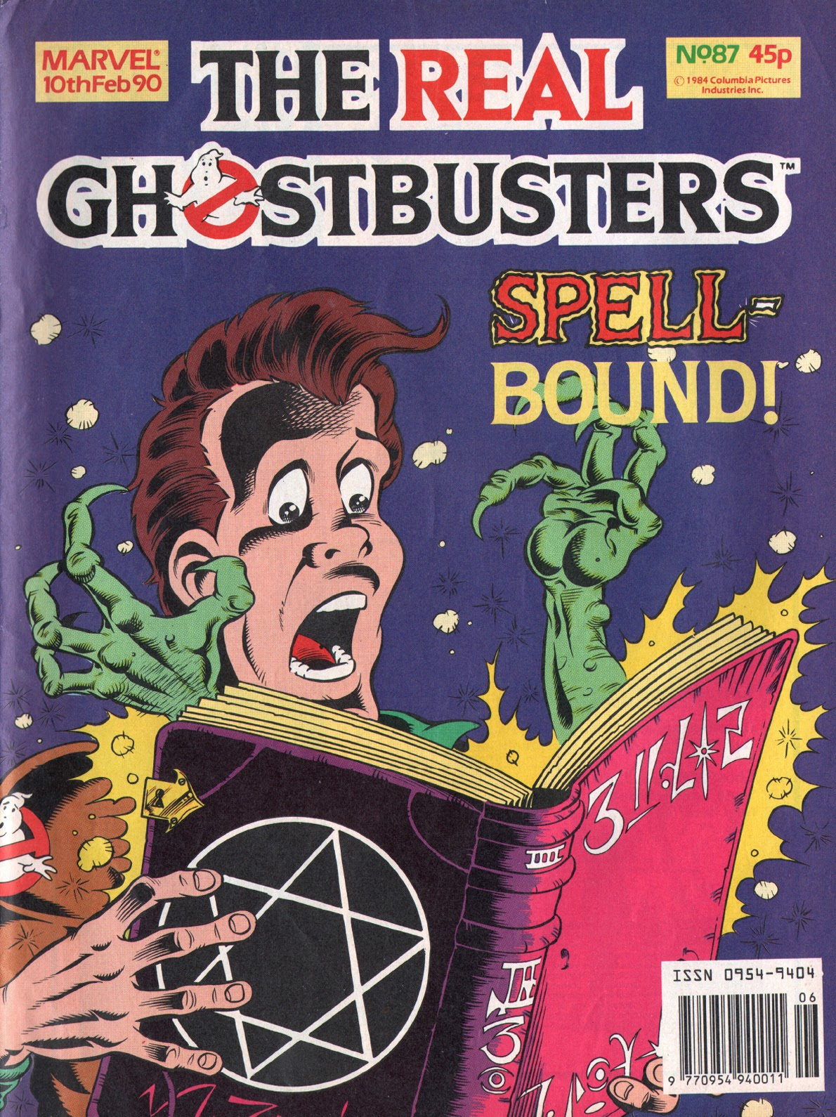 The Real Ghostbusters 87 Page 1