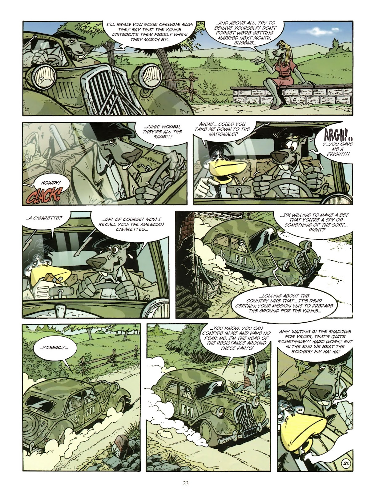 Une enquête de l'inspecteur Canardo issue 11 - Page 24