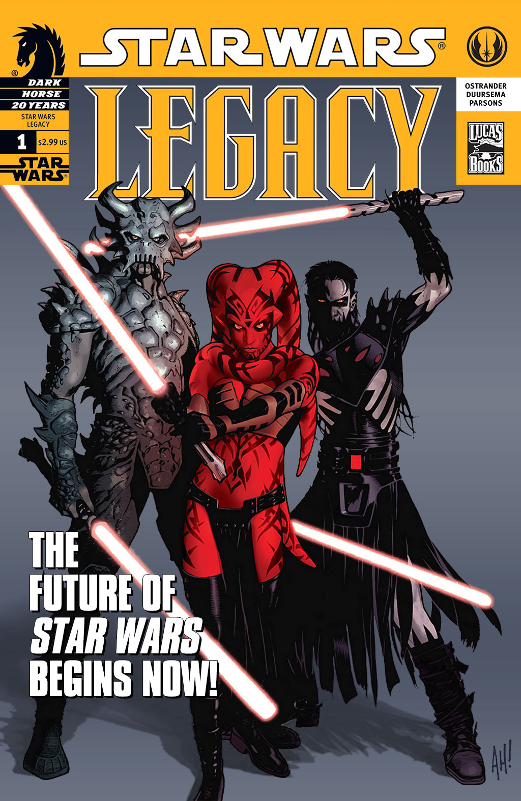 Star Wars: Legacy (2006) issue 1 - Page 1
