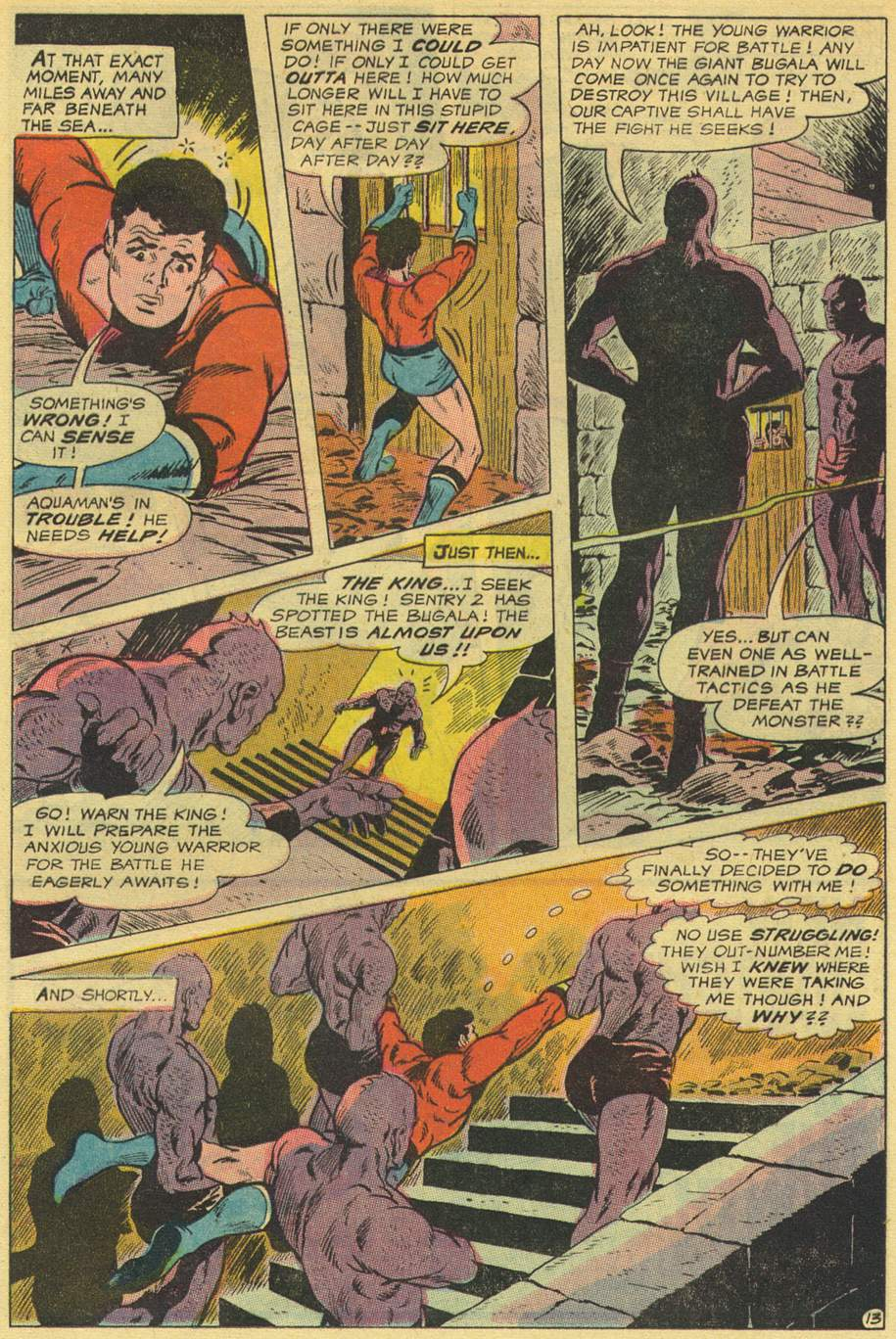 Read online Aquaman (1962) comic -  Issue #44 - 17