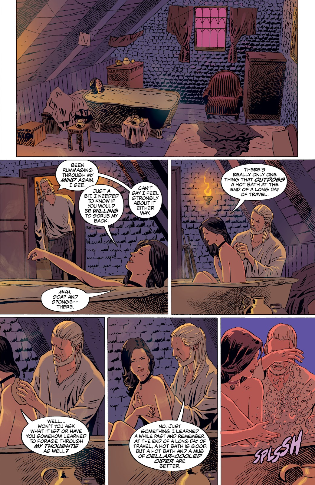 Read online The Witcher Omnibus comic -  Issue # TPB (Part 4) - 59