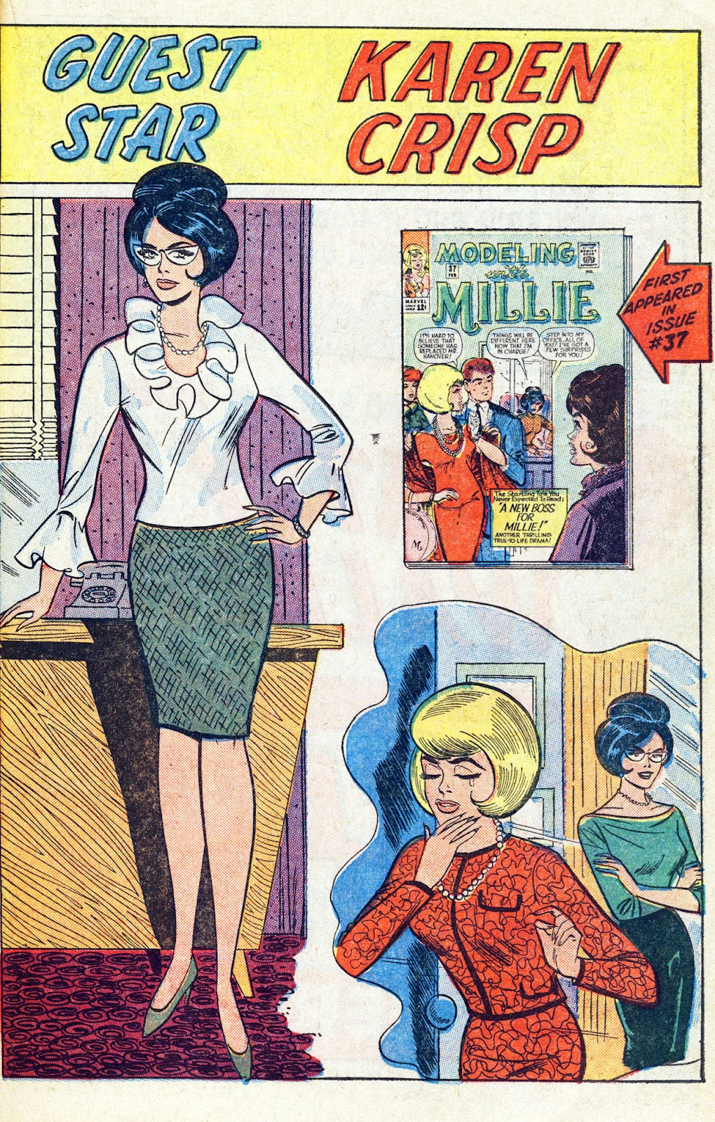 Read online Millie the Model comic -  Issue # Annual 4 - 19