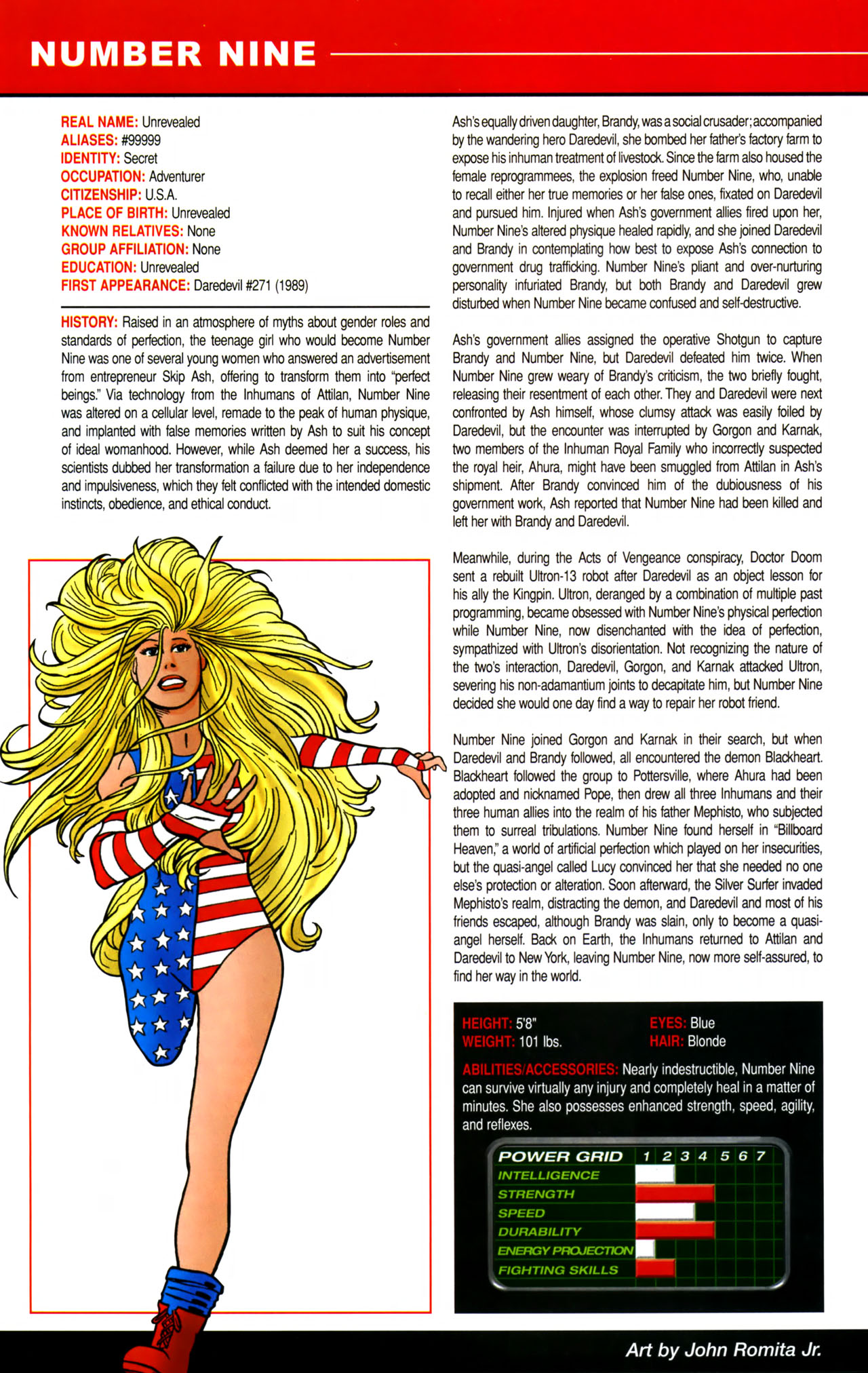 Read online All-New Official Handbook of the Marvel Universe A to Z comic -  Issue #8 - 24