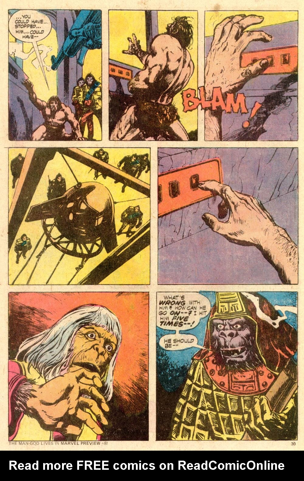 Read online Adventures on the Planet of the Apes comic -  Issue #11 - 19