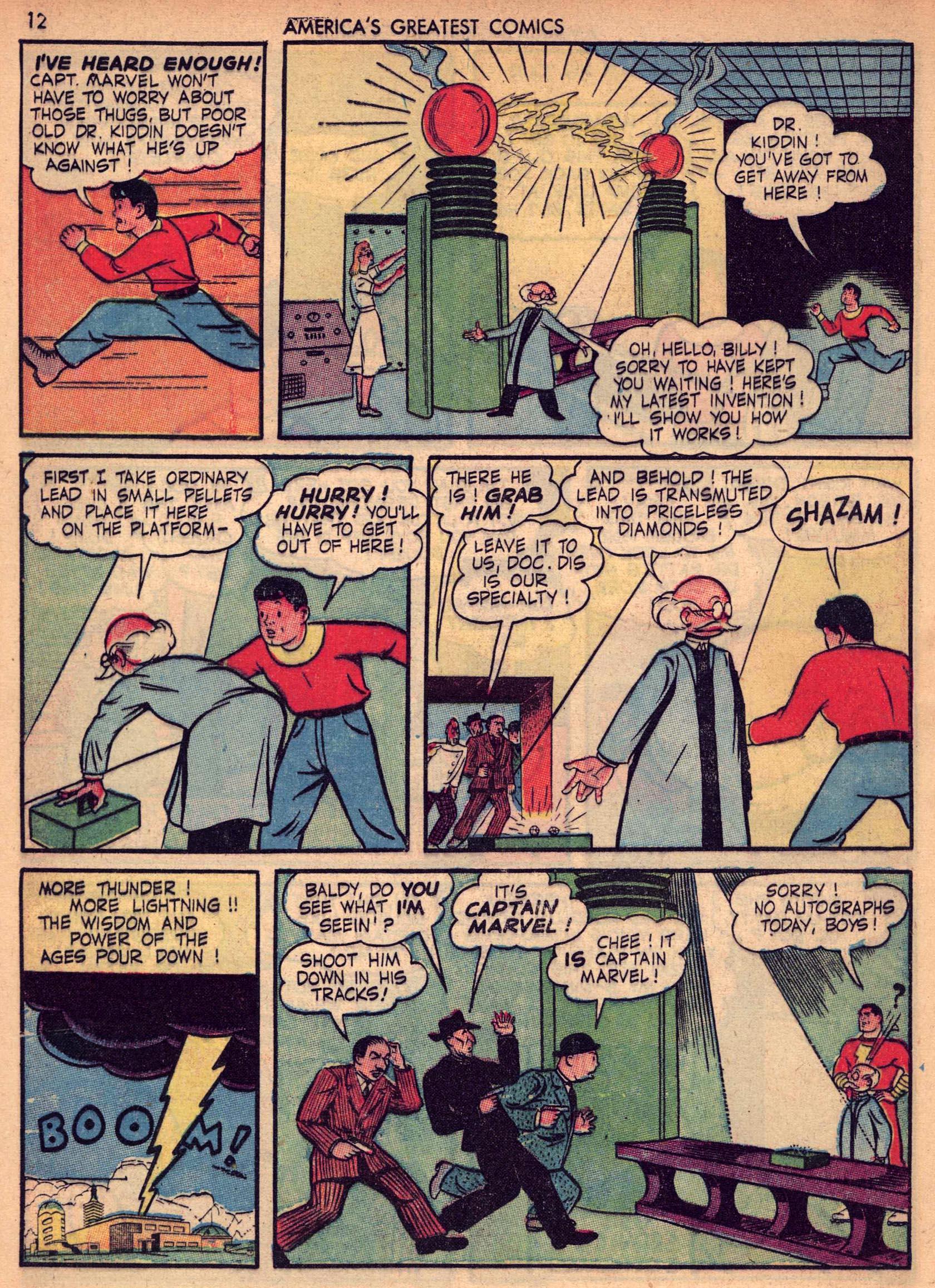 Read online America's Greatest Comics comic -  Issue #7 - 11