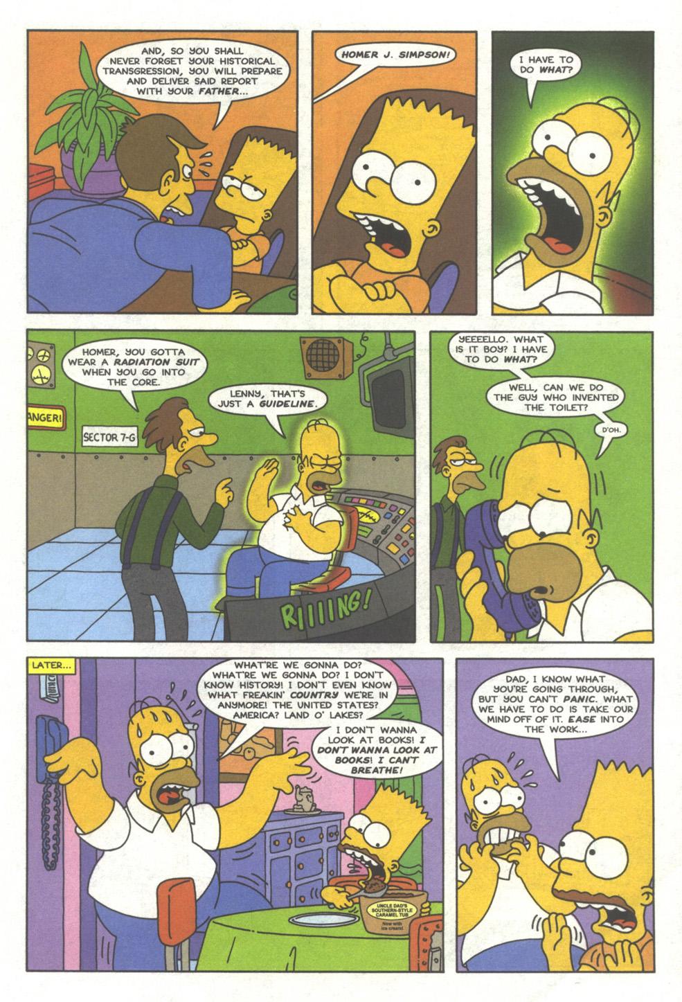 Read online Simpsons Comics comic -  Issue #39 - 4