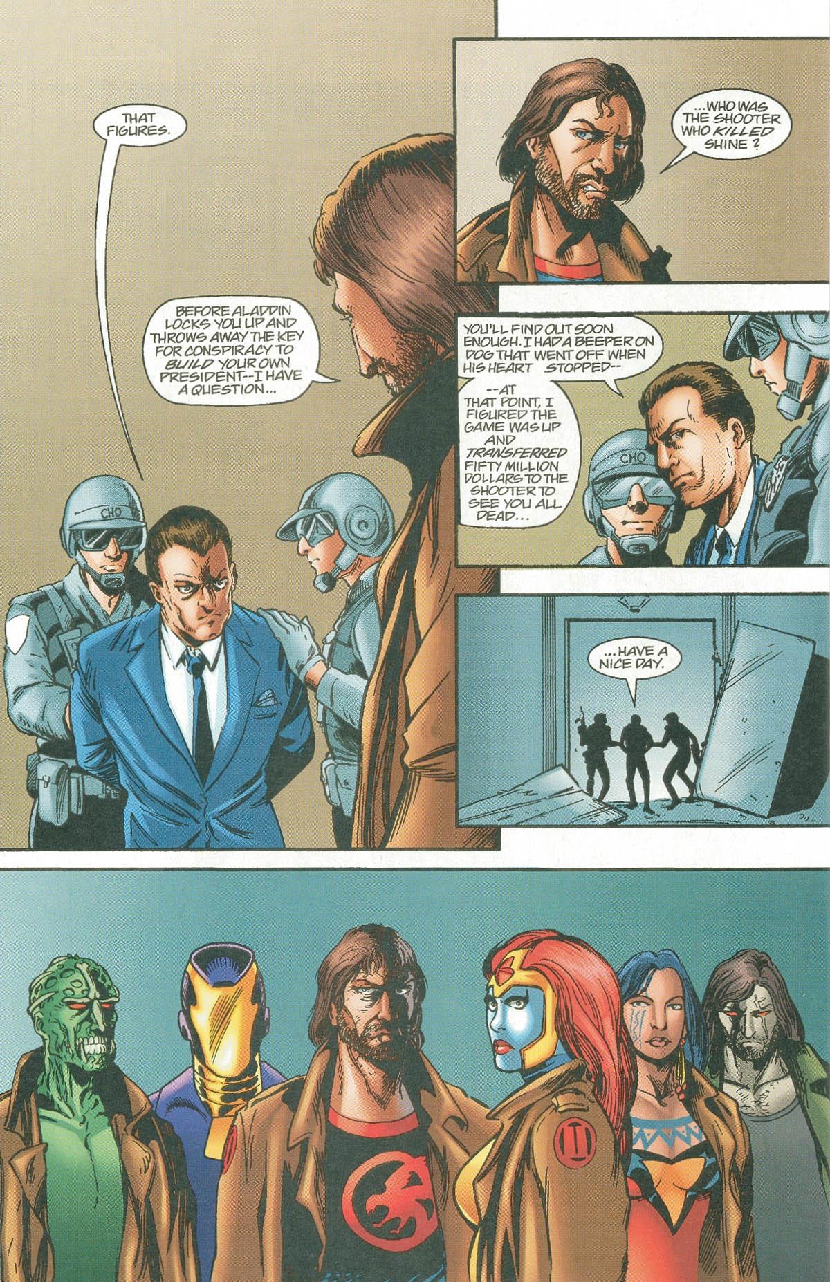 Read online UltraForce (1995) comic -  Issue #7 - 30