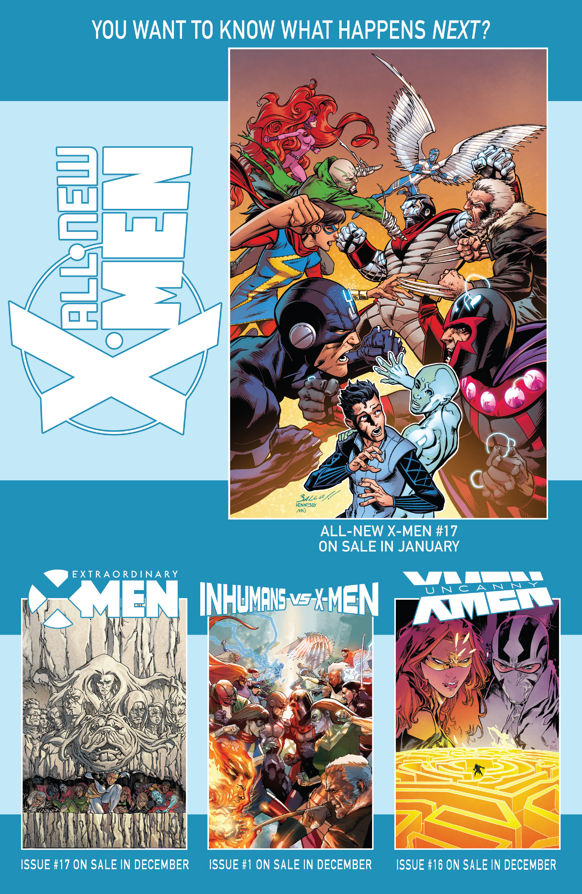 Read online All-New X-Men (2016) comic -  Issue #16 - 23