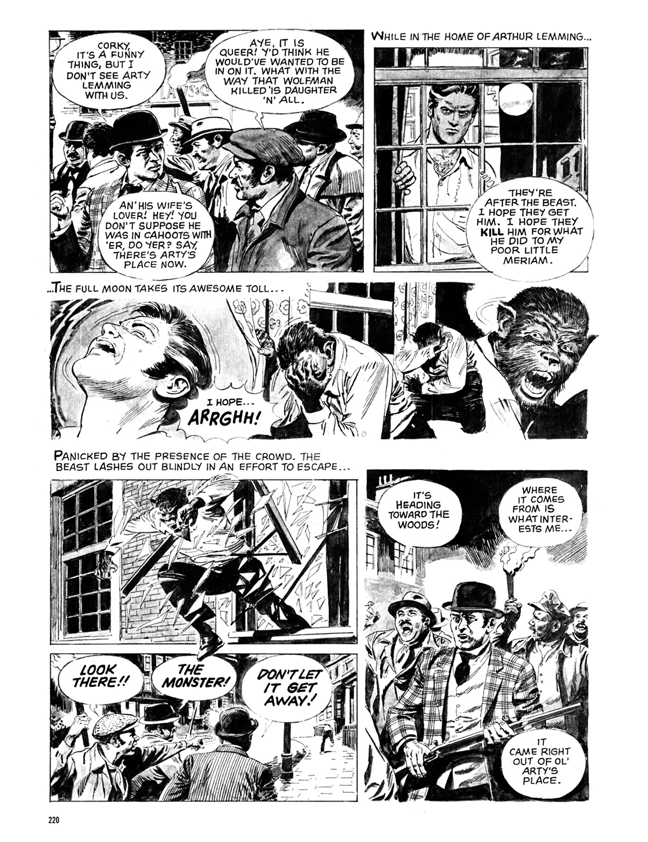 Read online Eerie Archives comic -  Issue # TPB 10 - 221