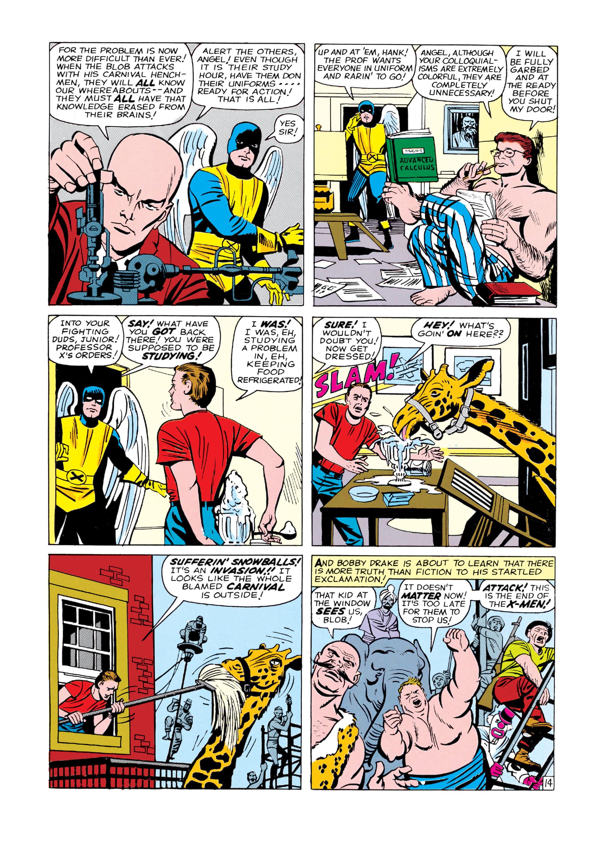 Read online Uncanny X-Men (1963) comic -  Issue #3 - 15