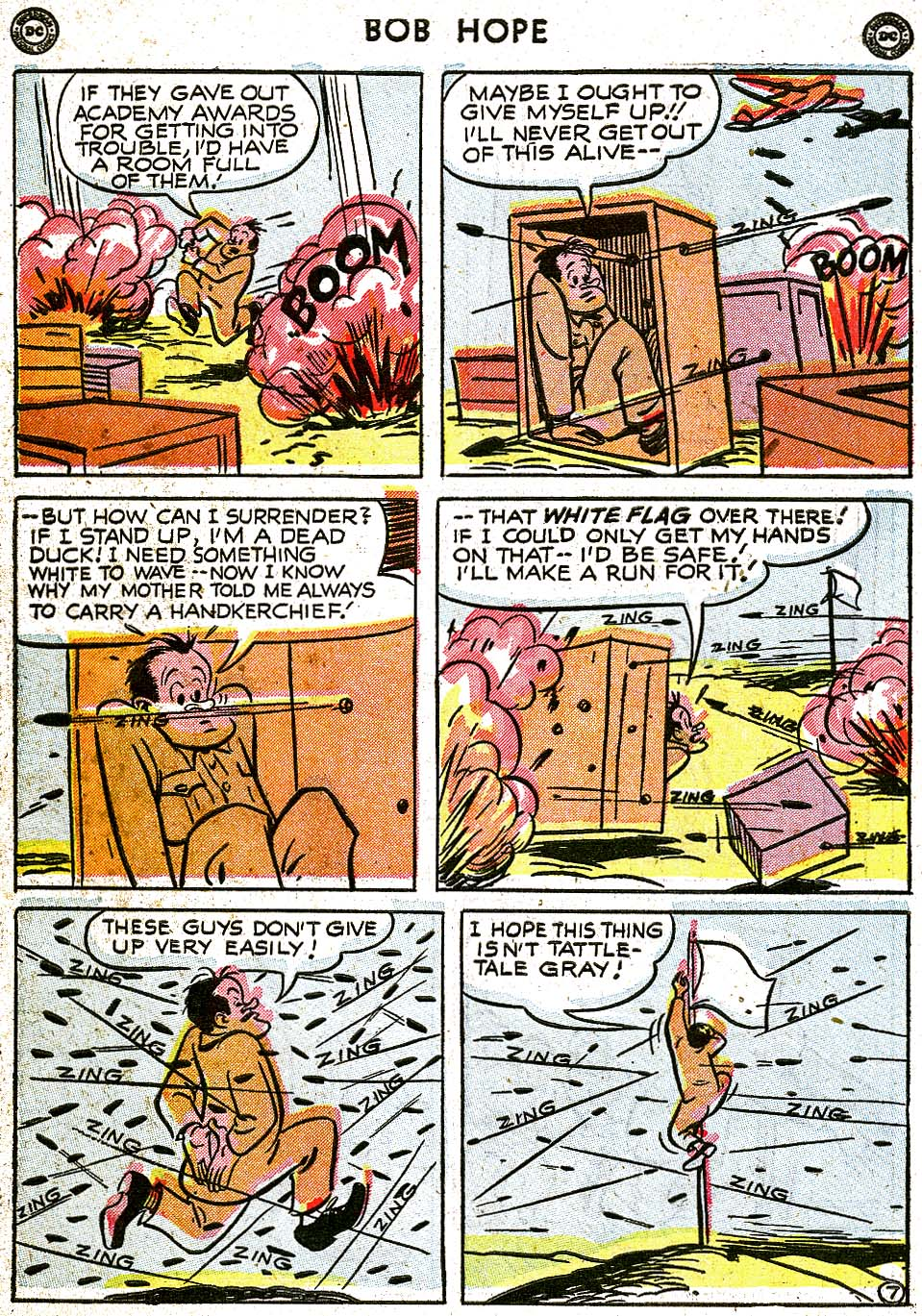 The Adventures of Bob Hope issue 8 - Page 44