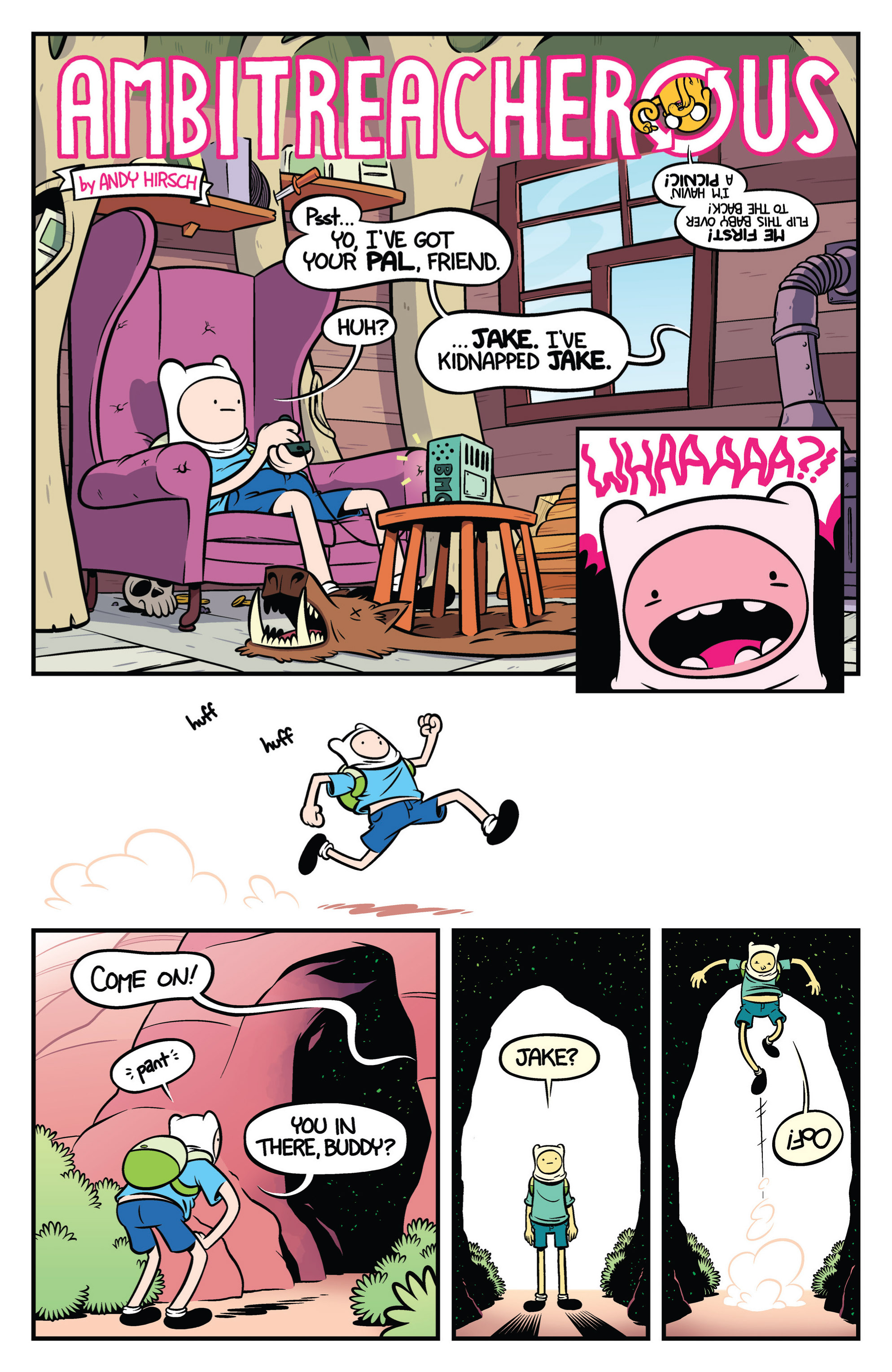 Read online Adventure Time comic -  Issue #19 - 23
