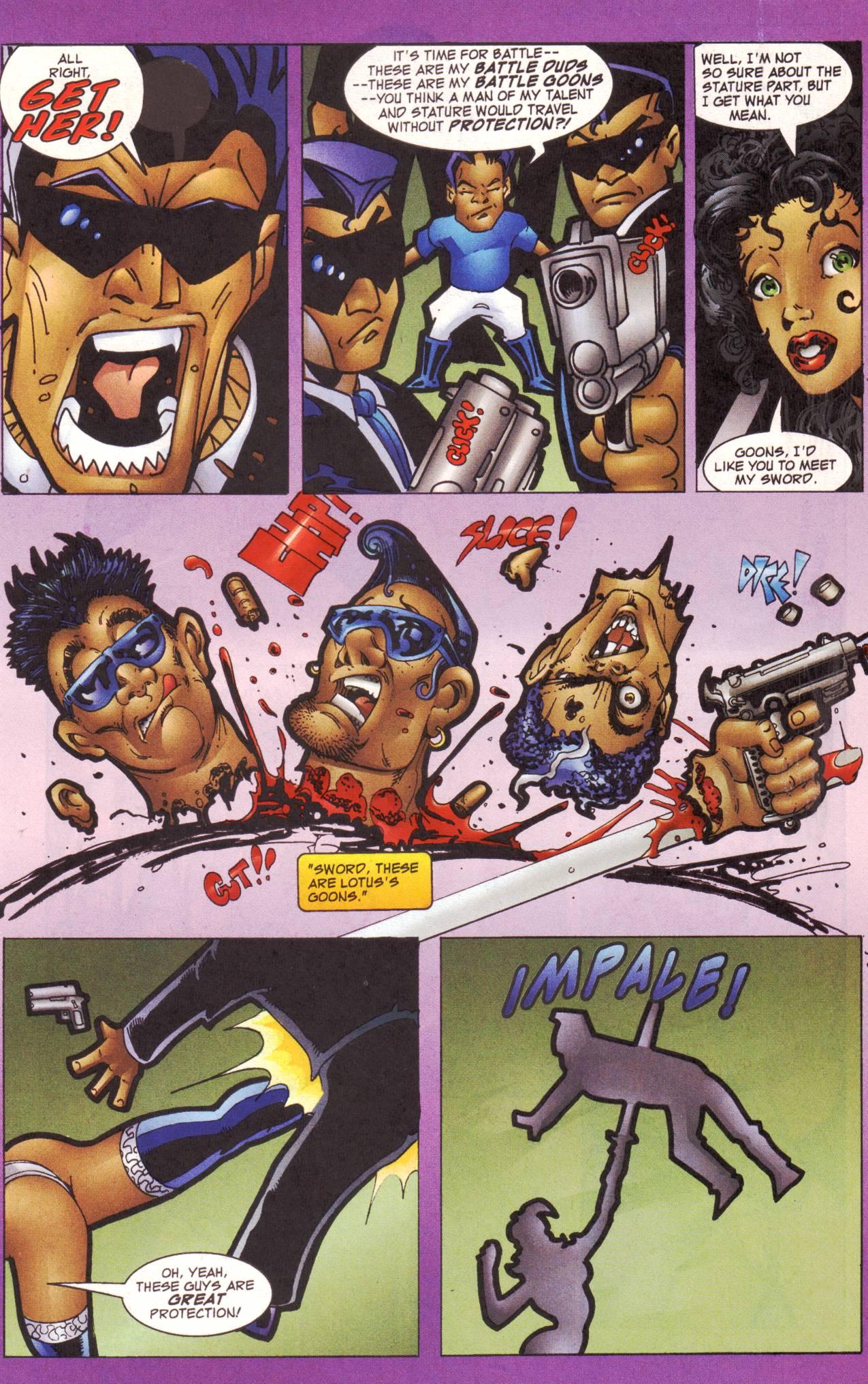 Read online Avengeblade comic -  Issue #2 - 10