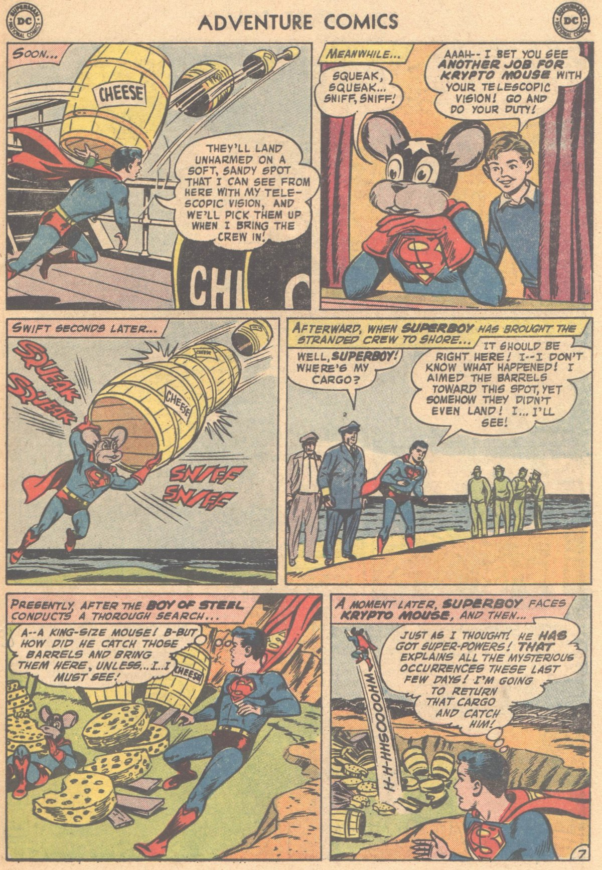 Read online Adventure Comics (1938) comic -  Issue #318 - 31