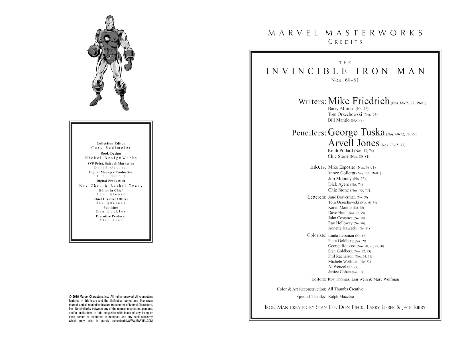 Read online Marvel Masterworks: The Invincible Iron Man comic -  Issue # TPB 10 (Part 1) - 3