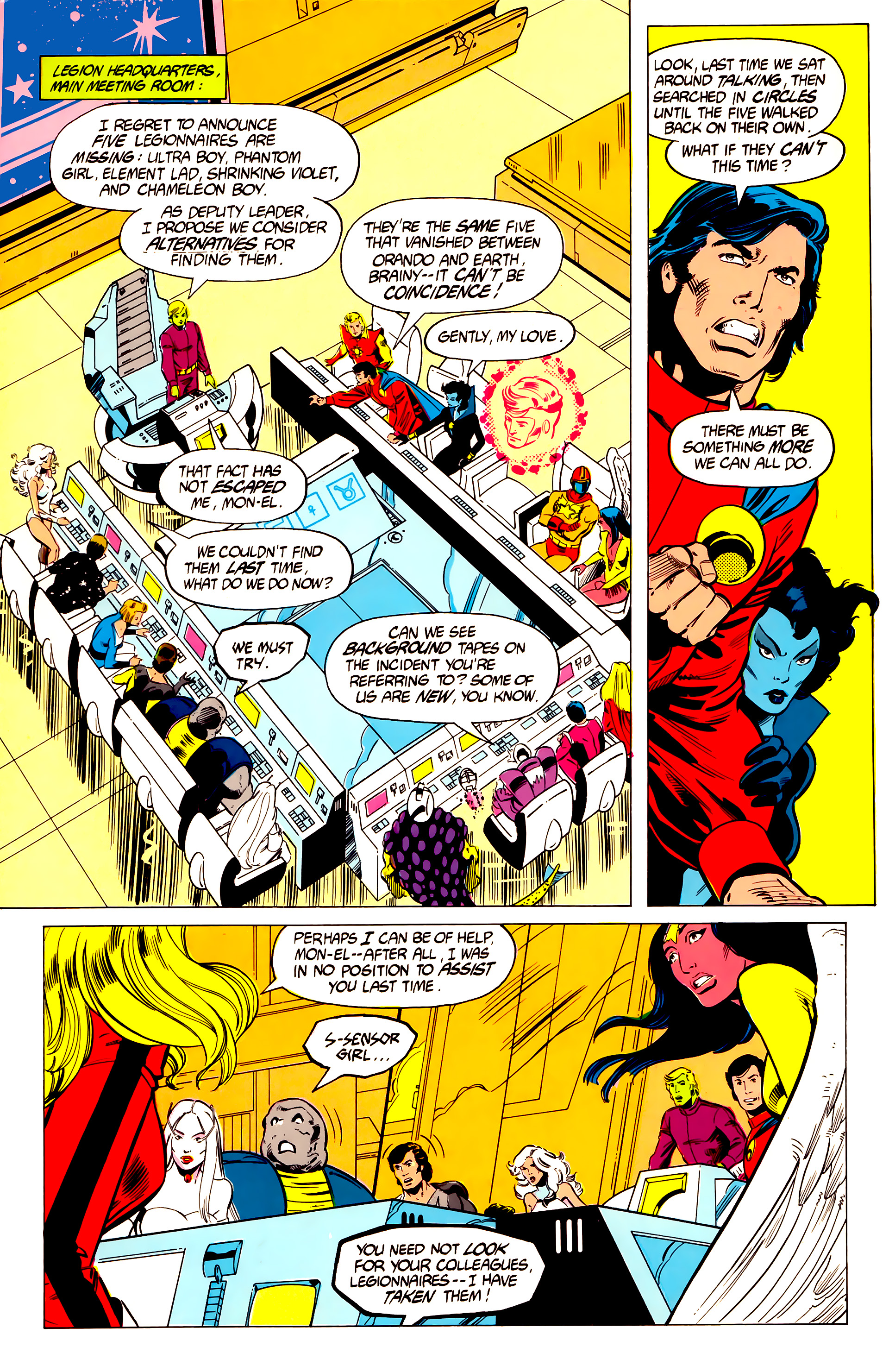Legion of Super-Heroes (1984) 19 Page 8