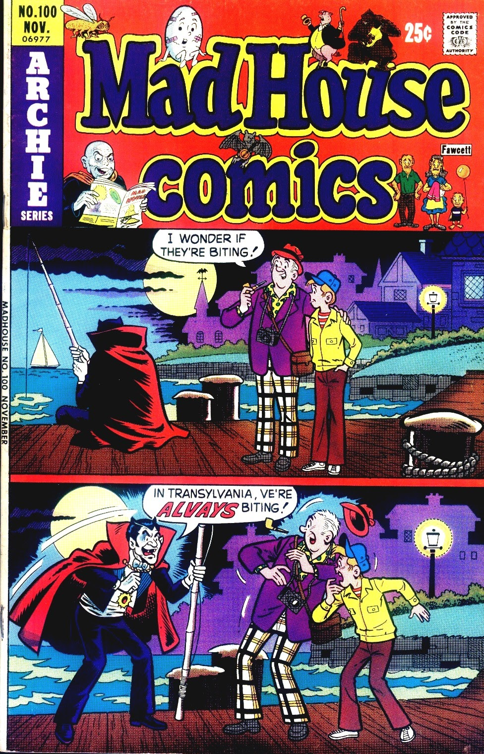 Read online Madhouse Comics comic -  Issue #100 - 1