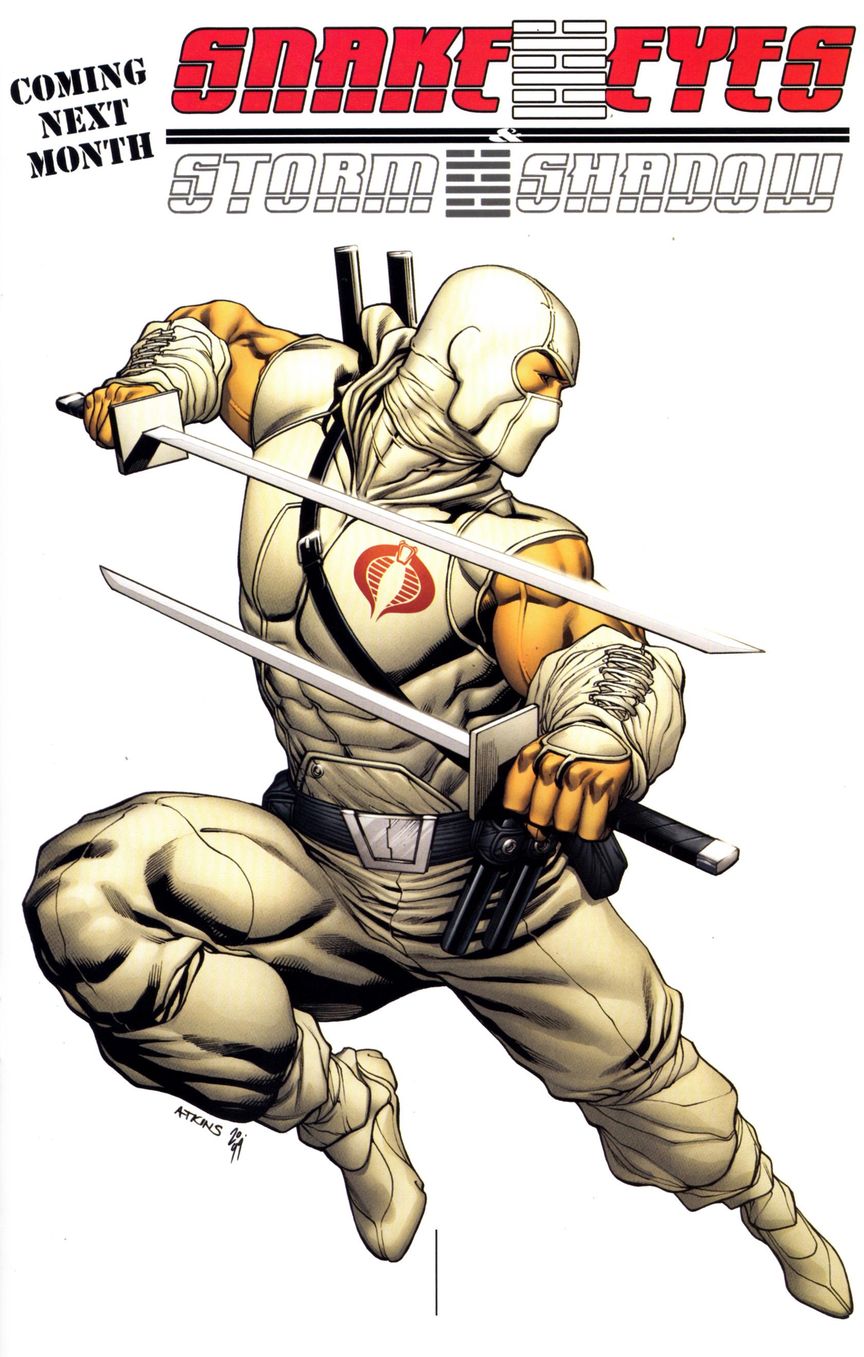 Read online G.I. Joe: Snake Eyes comic -  Issue #12 - 26
