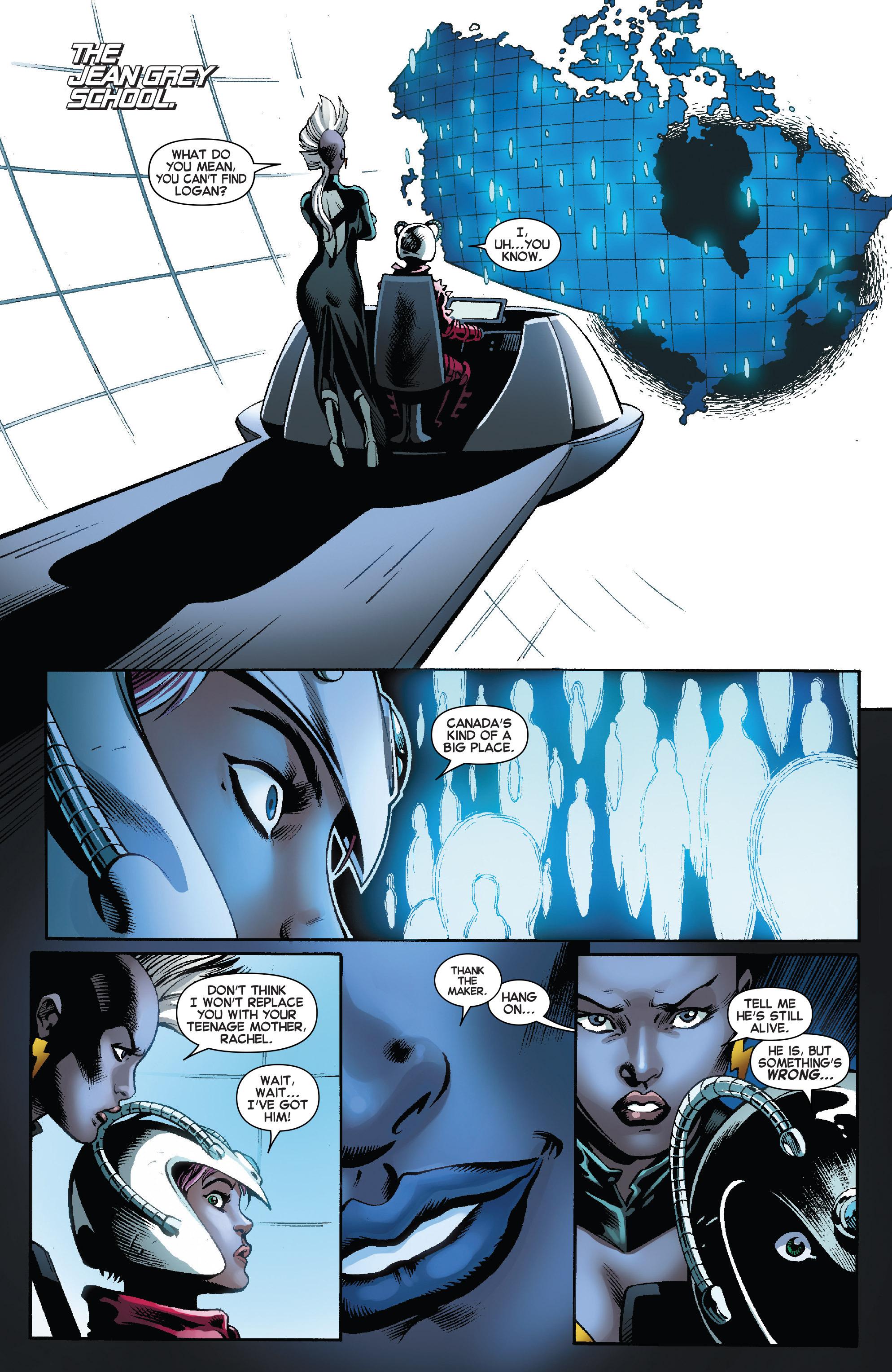 Read online Amazing X-Men (2014) comic -  Issue #8 - 16