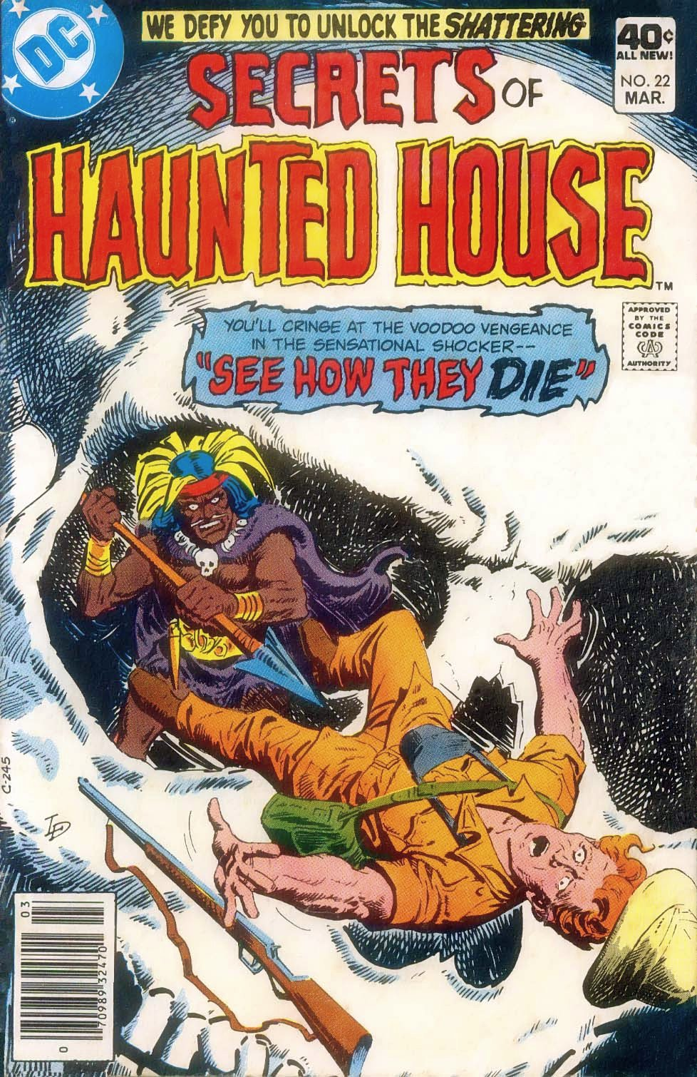 Read online Secrets of Haunted House comic -  Issue #22 - 1