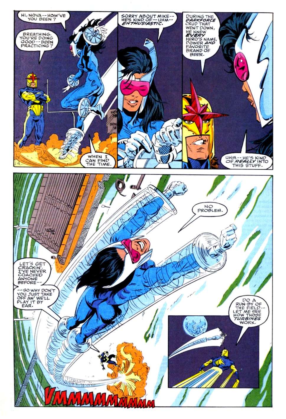 The New Warriors Issue #35 #39 - English 7