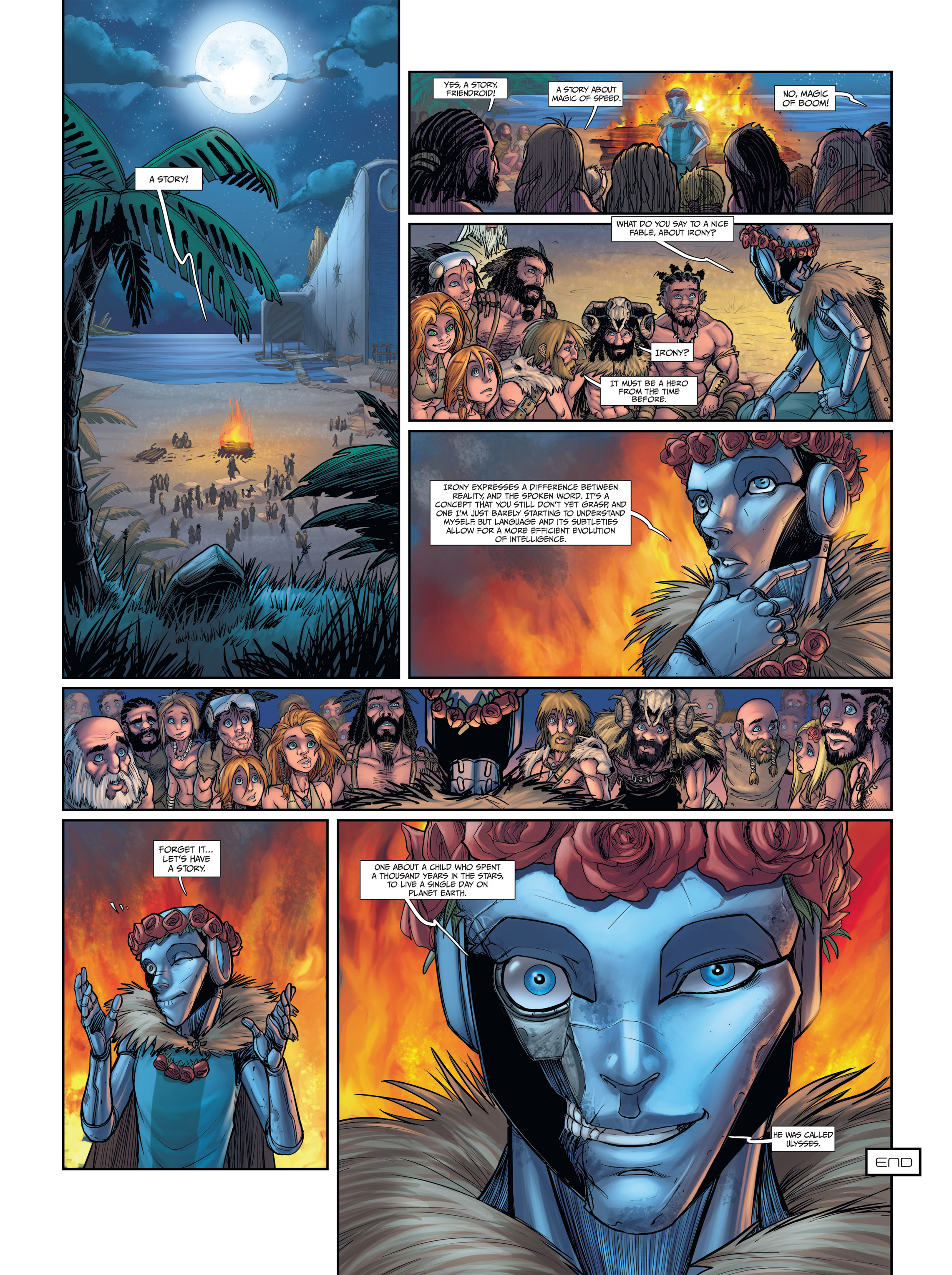 Read online Androïds comic -  Issue #2 - 51