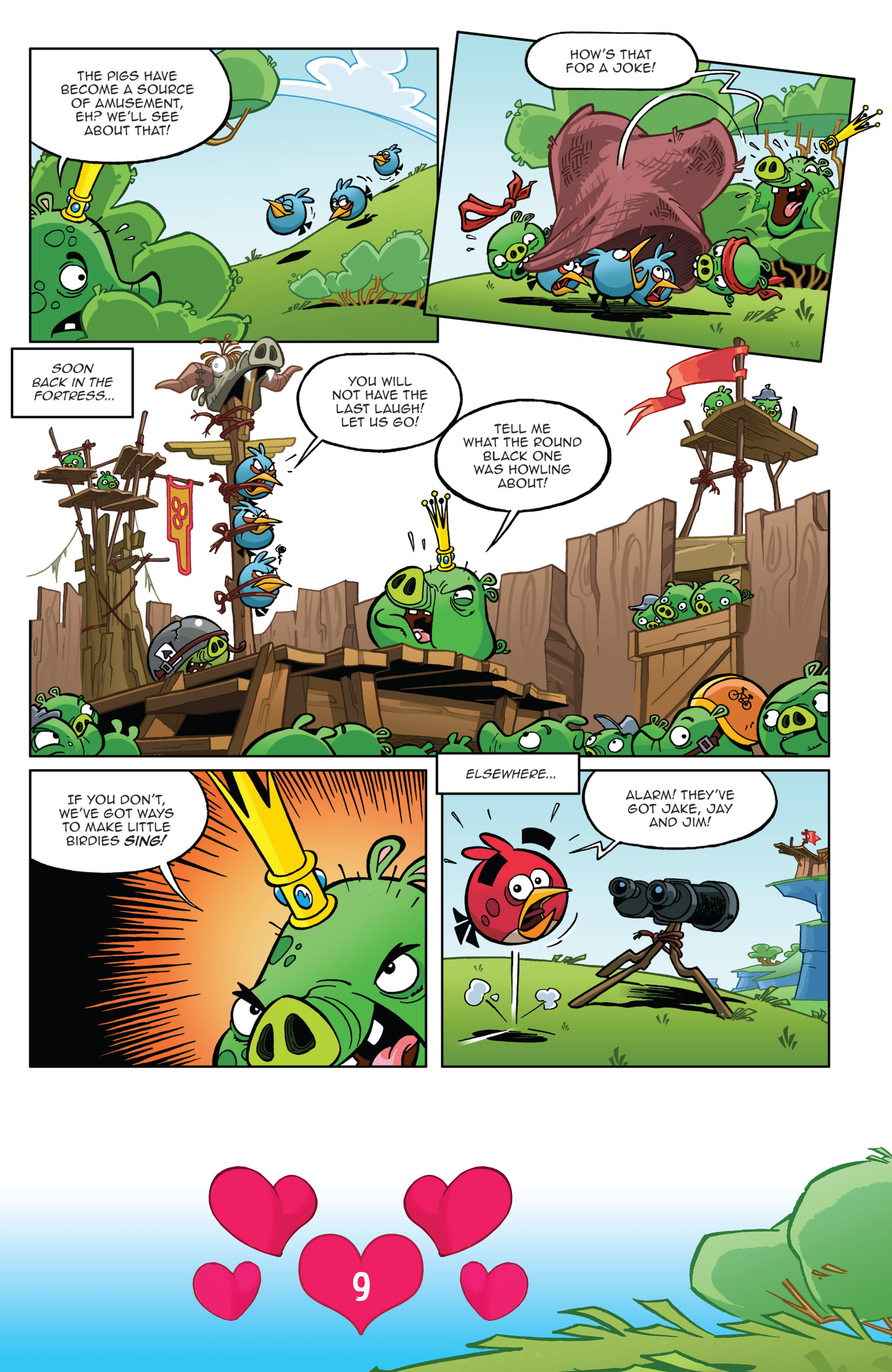 Read online Angry Birds Comics (2016) comic -  Issue #2 - 11