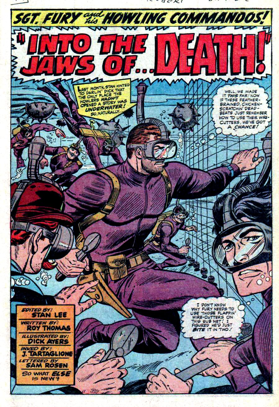 Read online Sgt. Fury comic -  Issue #31 - 3
