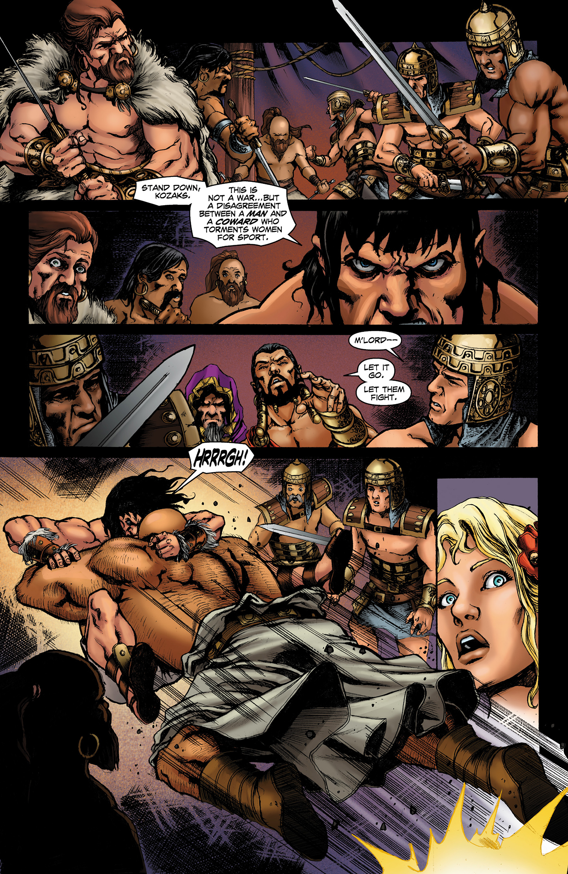 Read online Conan The Slayer comic -  Issue #8 - 14